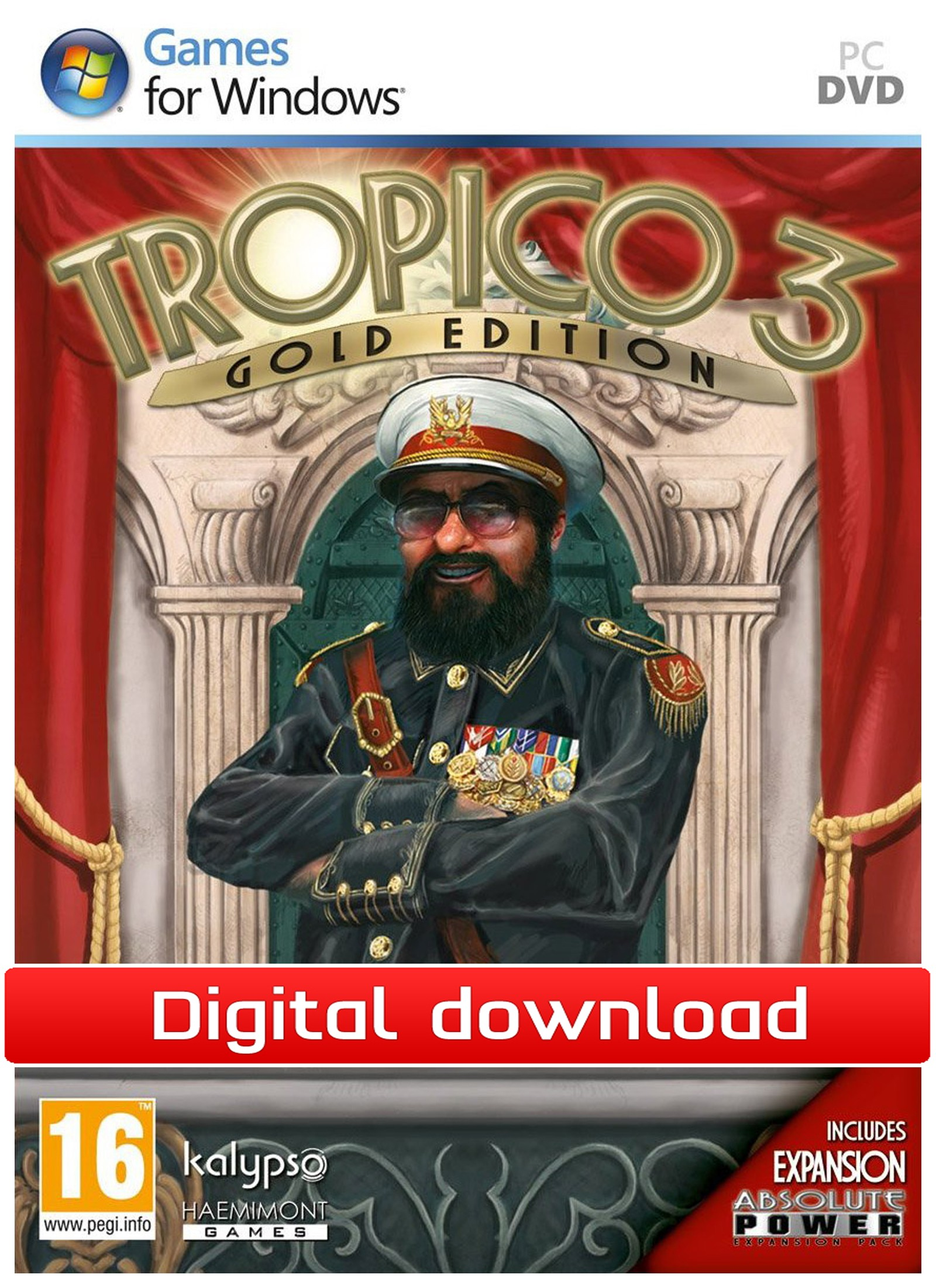24615 : Tropico 3: Gold Edition (PC nedlastning)