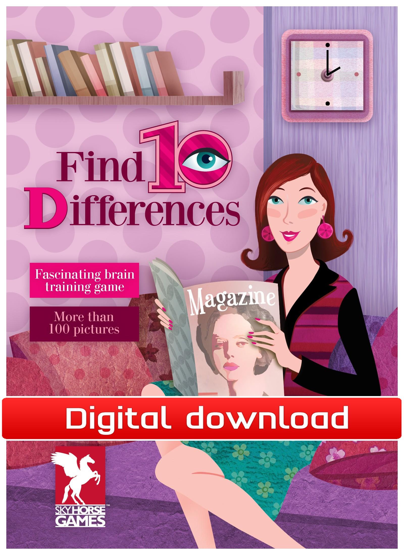 Find 10 Differences (PC nedlastning) PCDD25369
