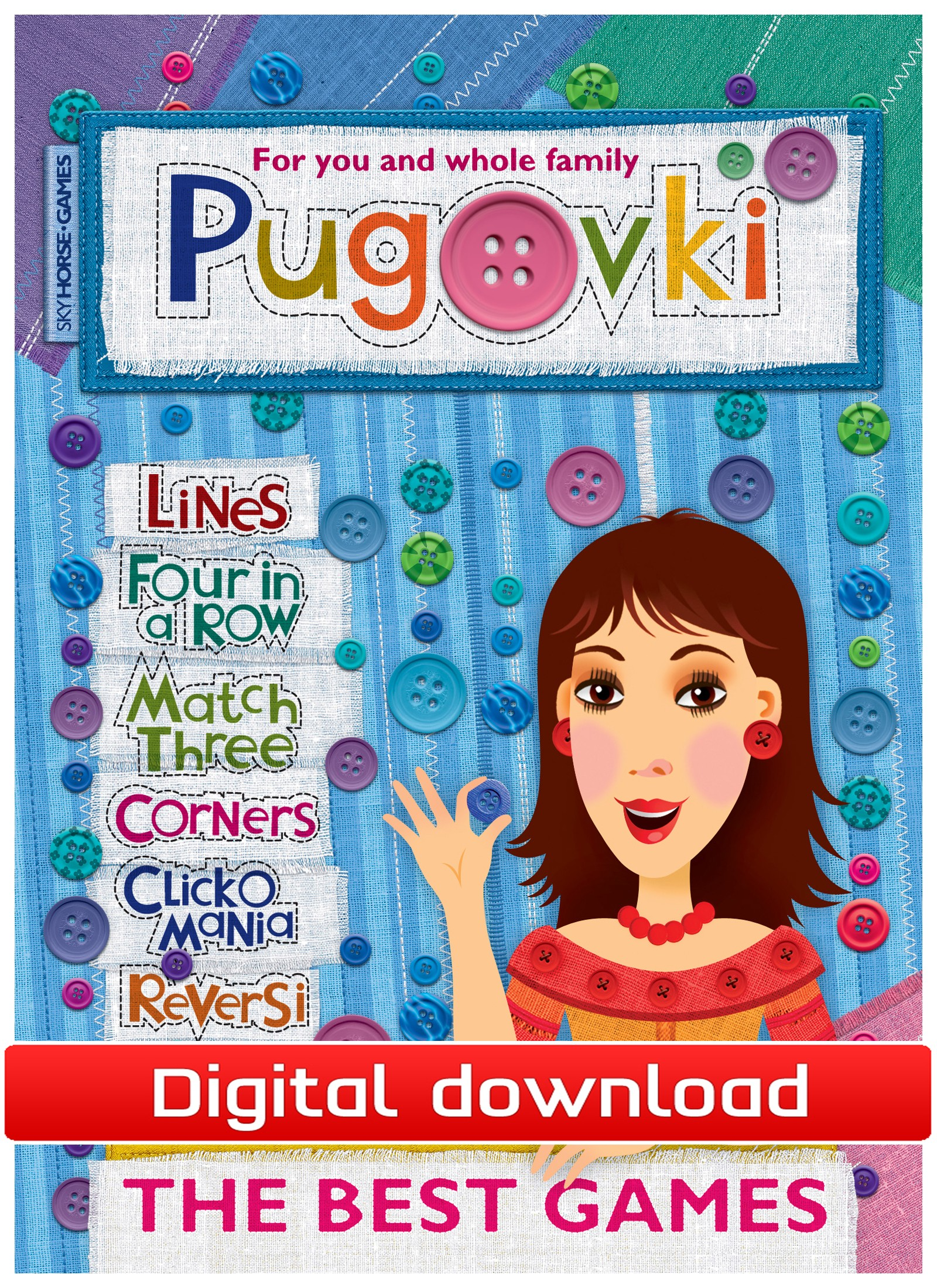 Pugovki, Buttons (PC nedlastning) PCDD25371