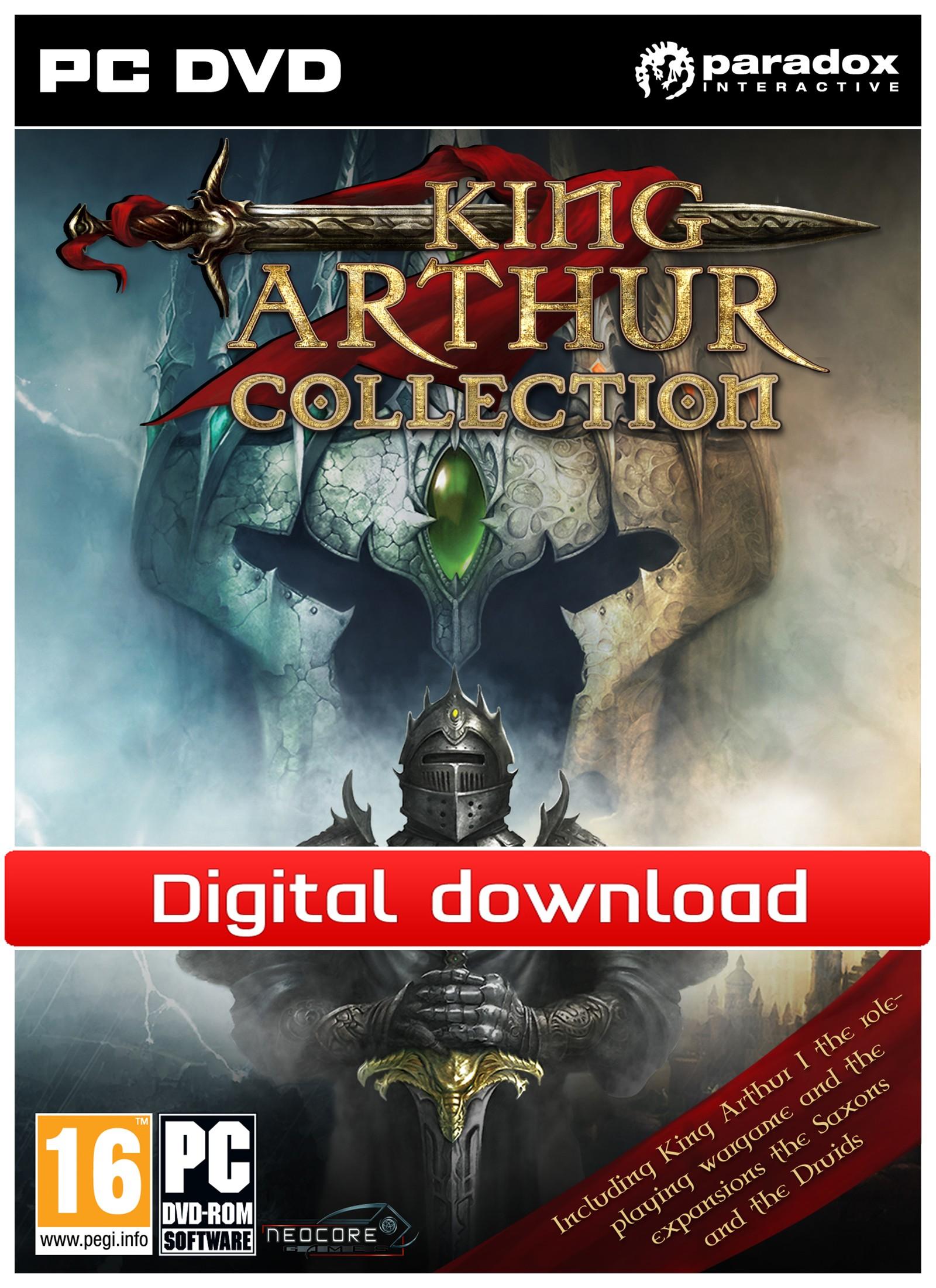 King Arthur Collections (PC nedlastning) PCDD25966