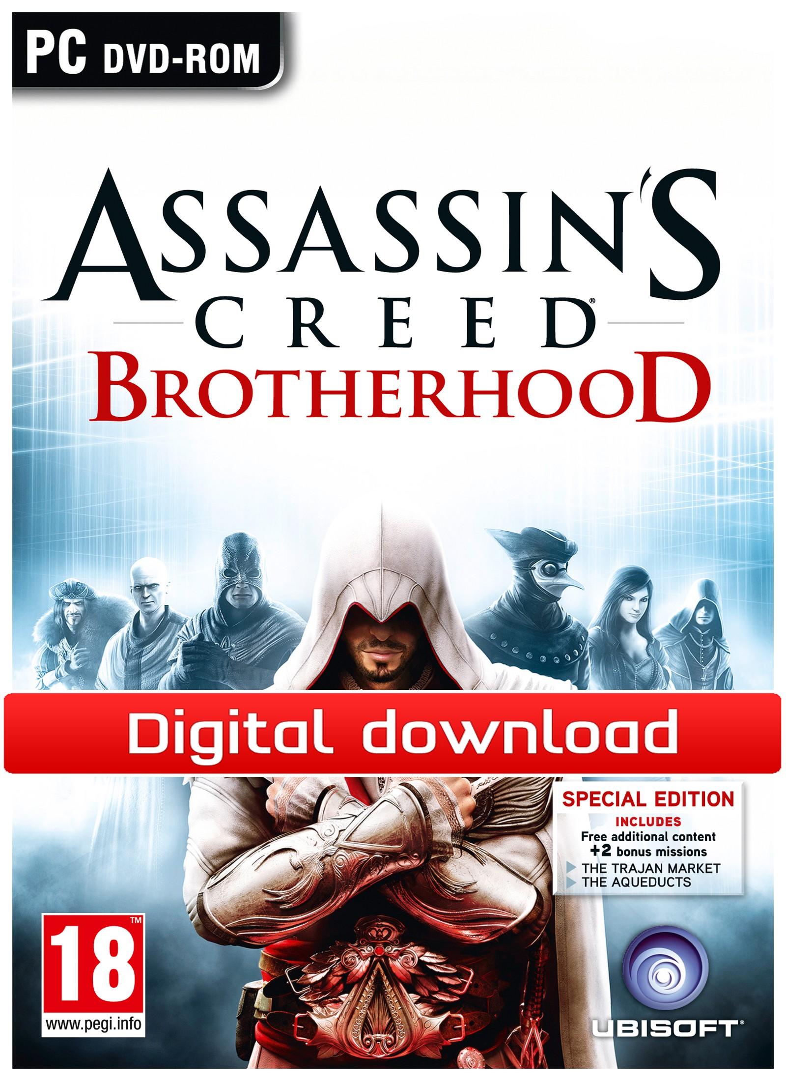 Assassins Creed: Brotherhood, Deluxe (PC nedlastning) PCDD26056