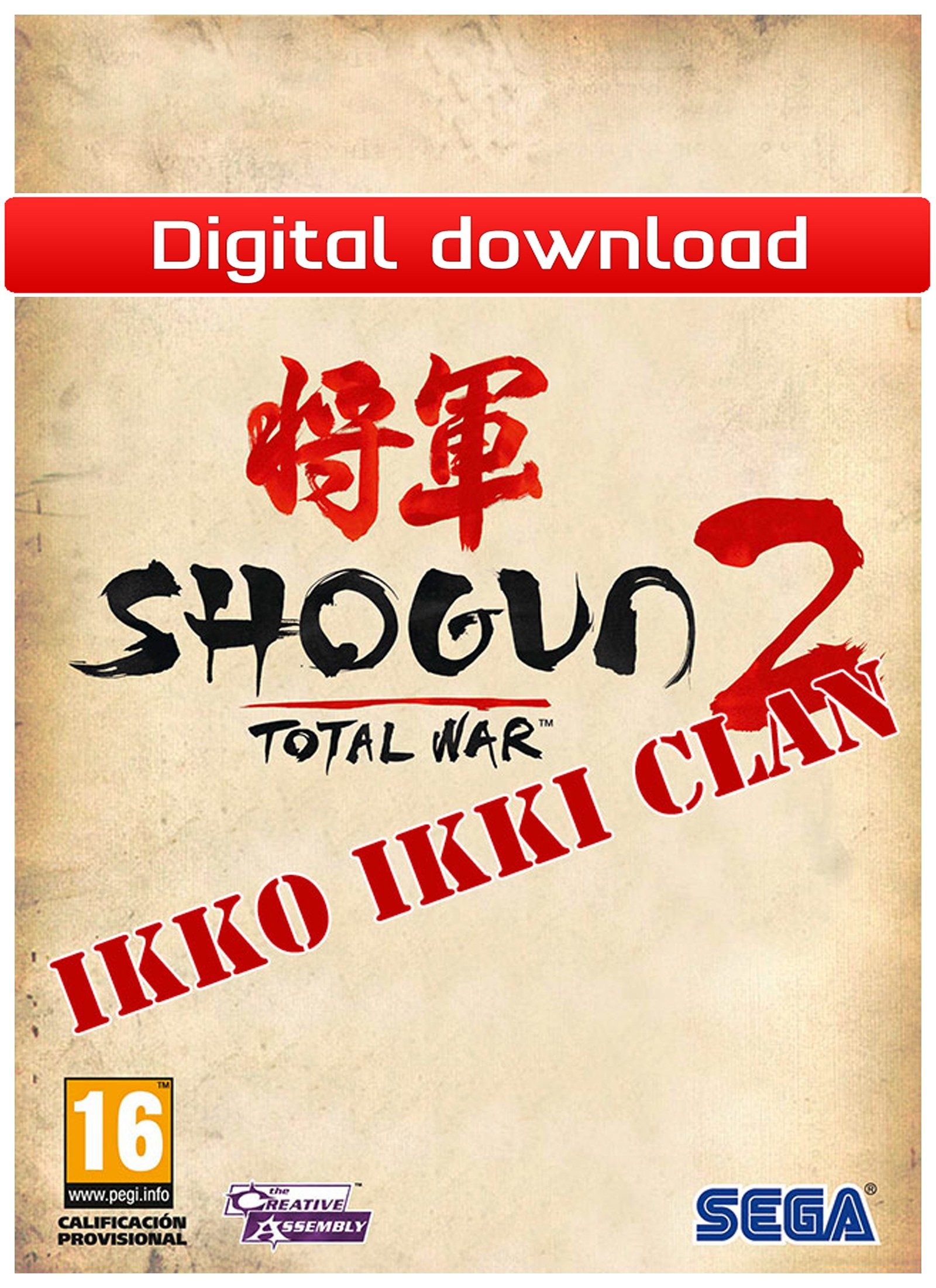 26272 : Total War: Shogun 2: Ikko Ikki Clan (PC nedlastning)
