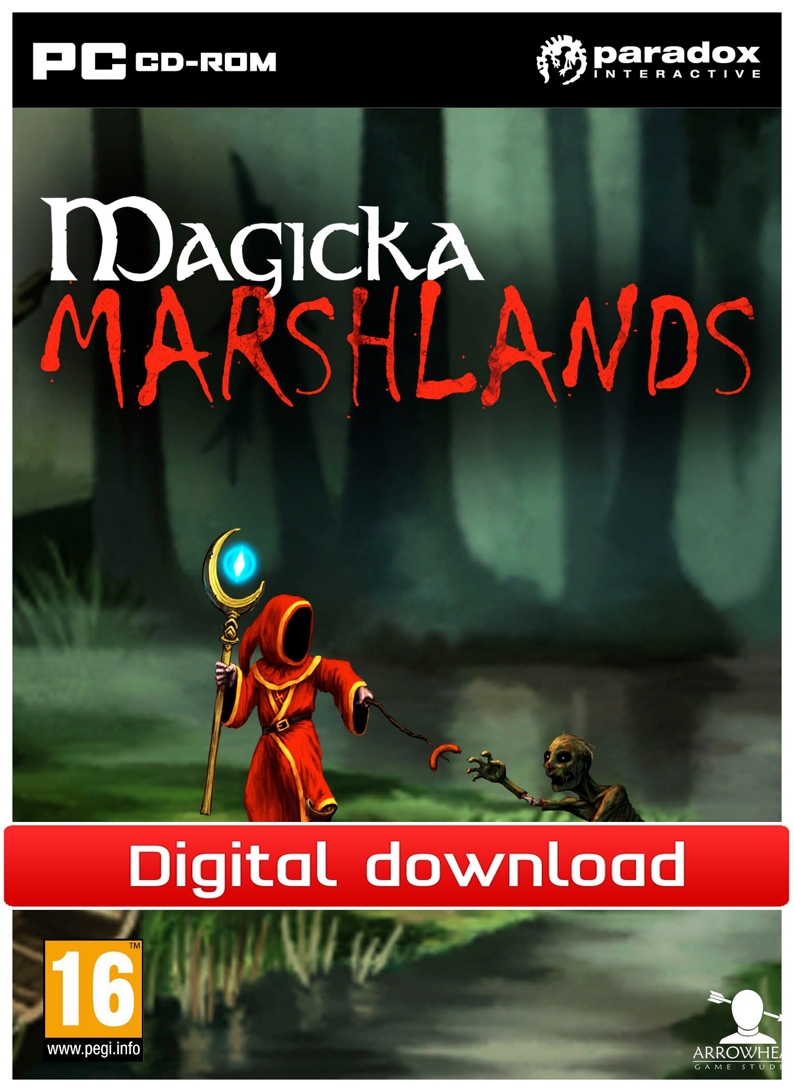 Magicka: DLC Marshlands (PC nedlastning) PCDD26664