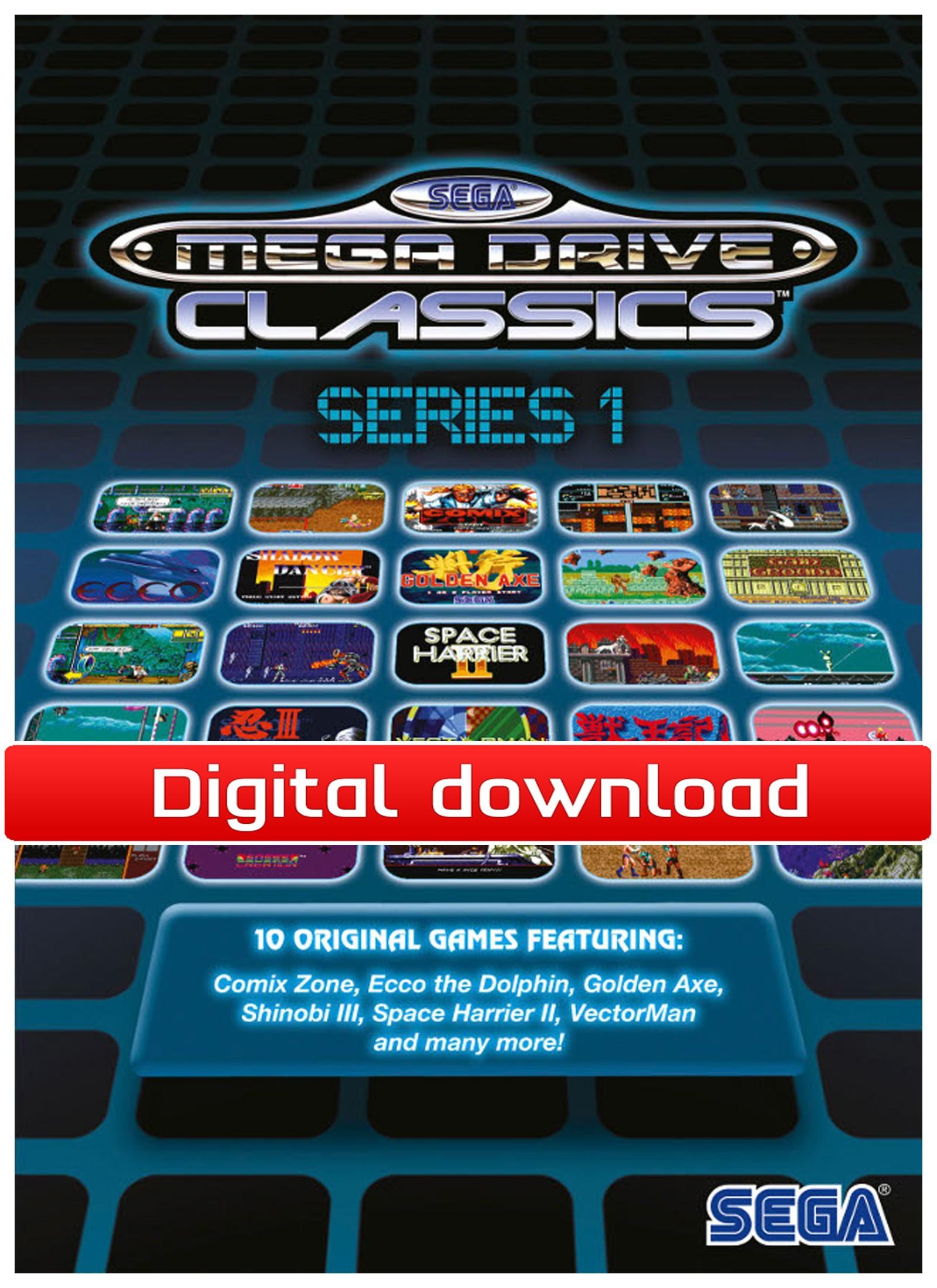 SEGA MegaDrive Collection 1 (PC nedlastning) PCDD26826