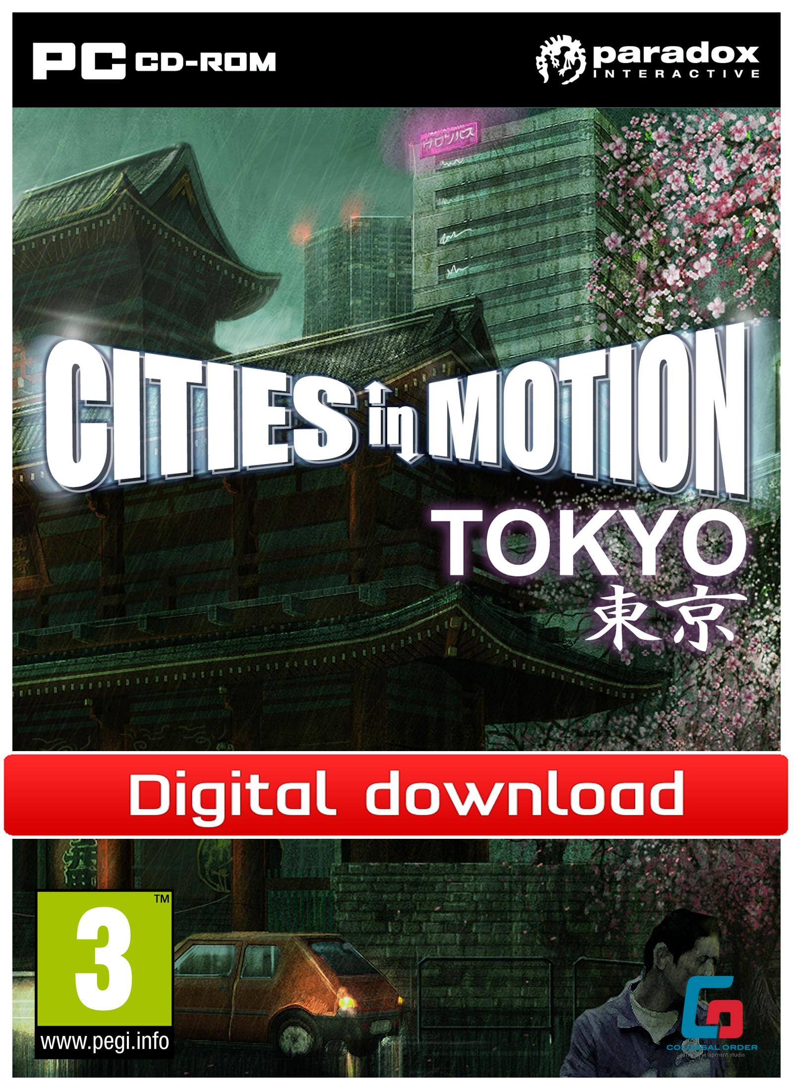 Cities in Motion: Tokyo (PC nedlastning) PCDD26866