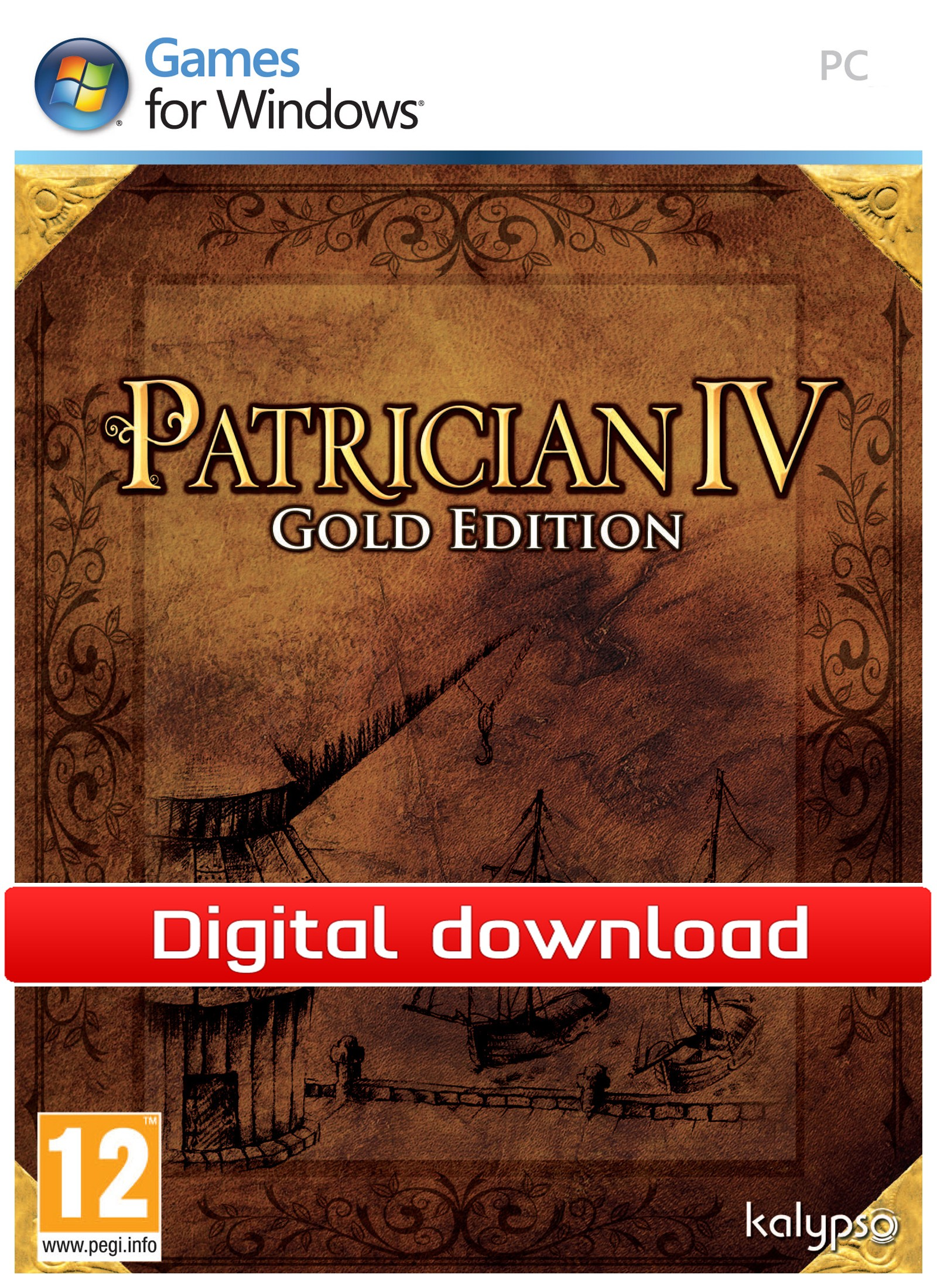 27074 : Patrician IV Gold Edition (PC nedlastning)