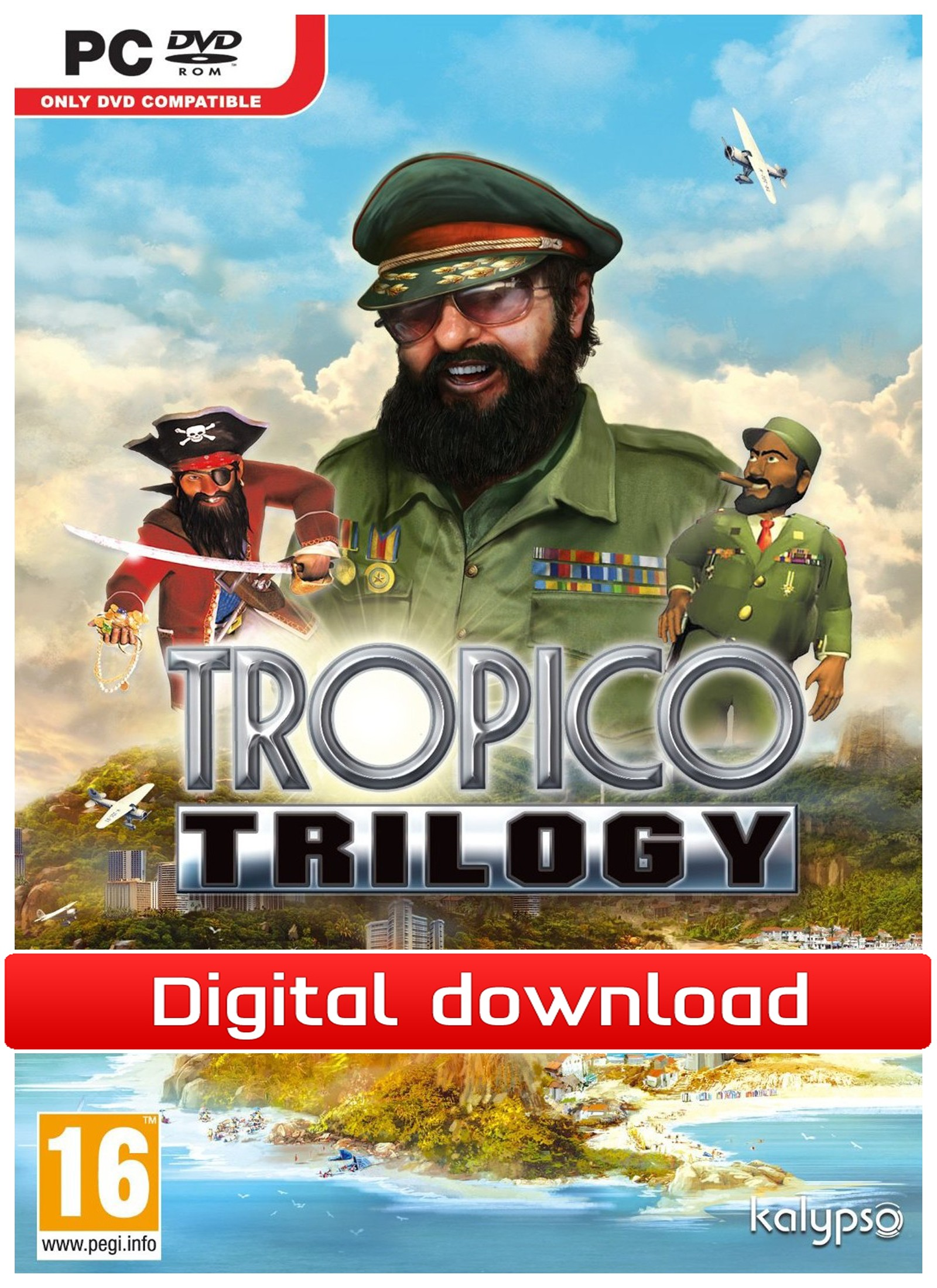 27639 : Tropico Trilogy (PC nedlastning)