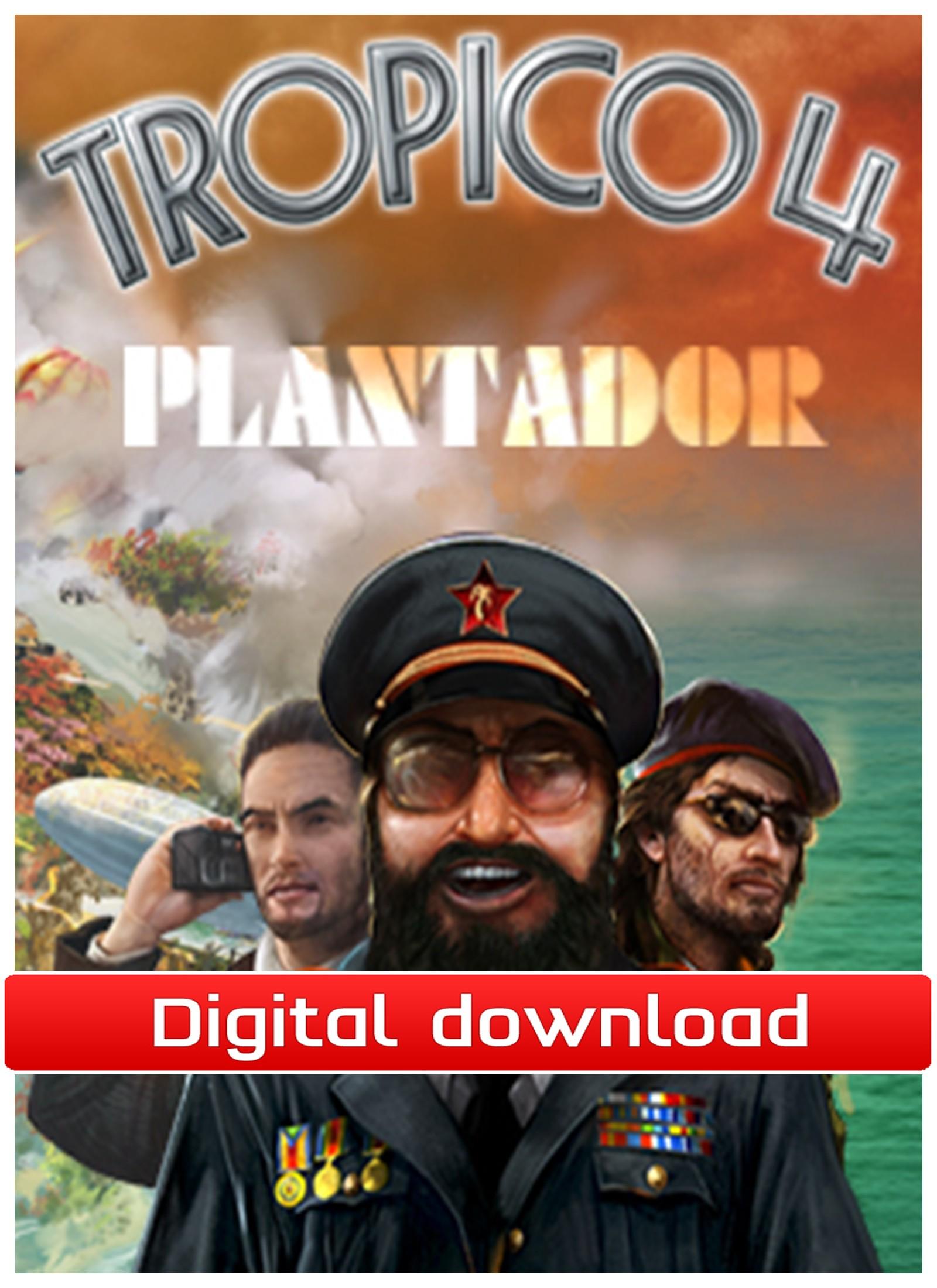 Tropico 4 - DLC Plantador (PC nedlastning) PCDD27640