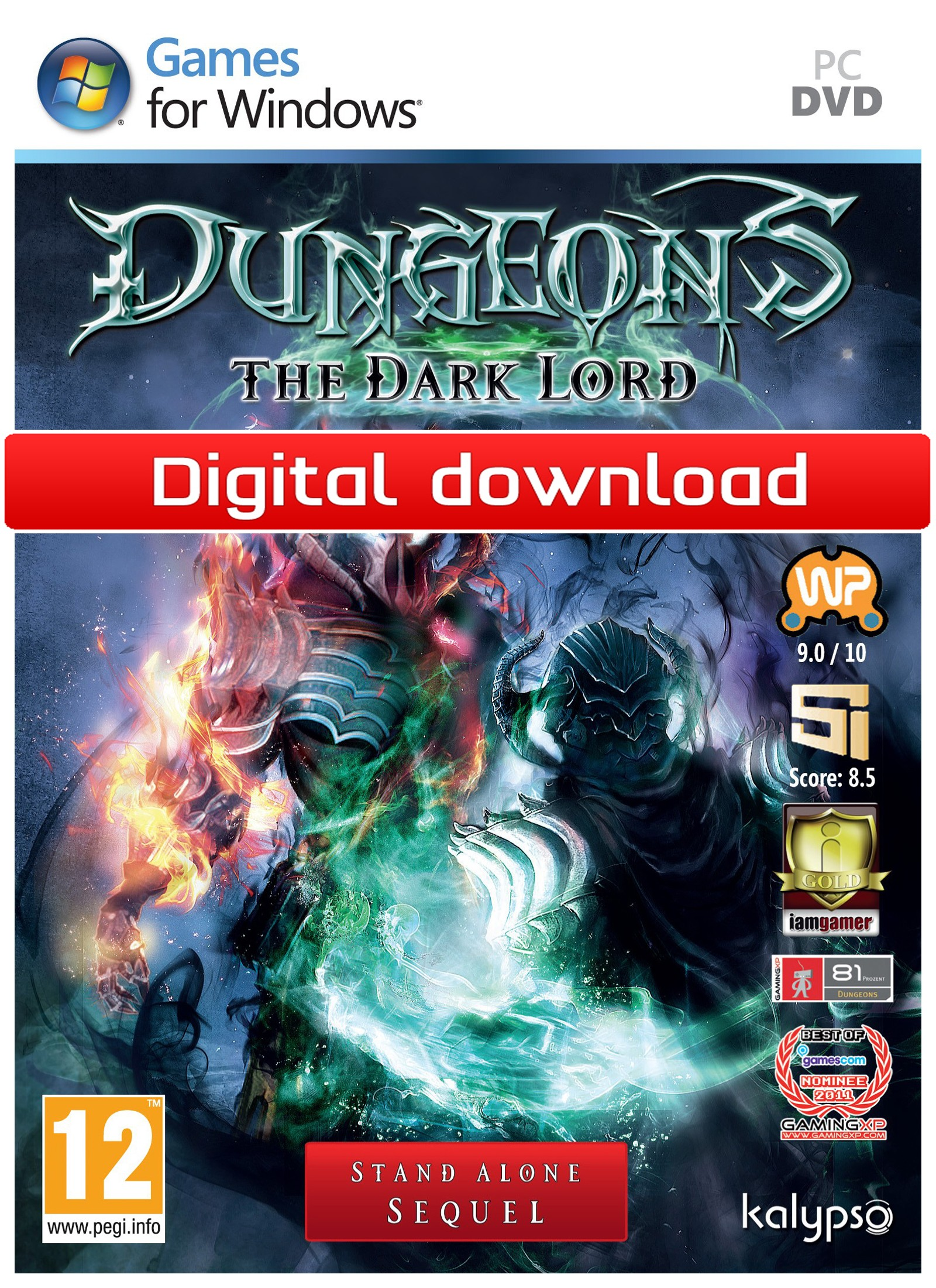Dungeons: The Dark Lord (PC nedlastning) PCDD27710