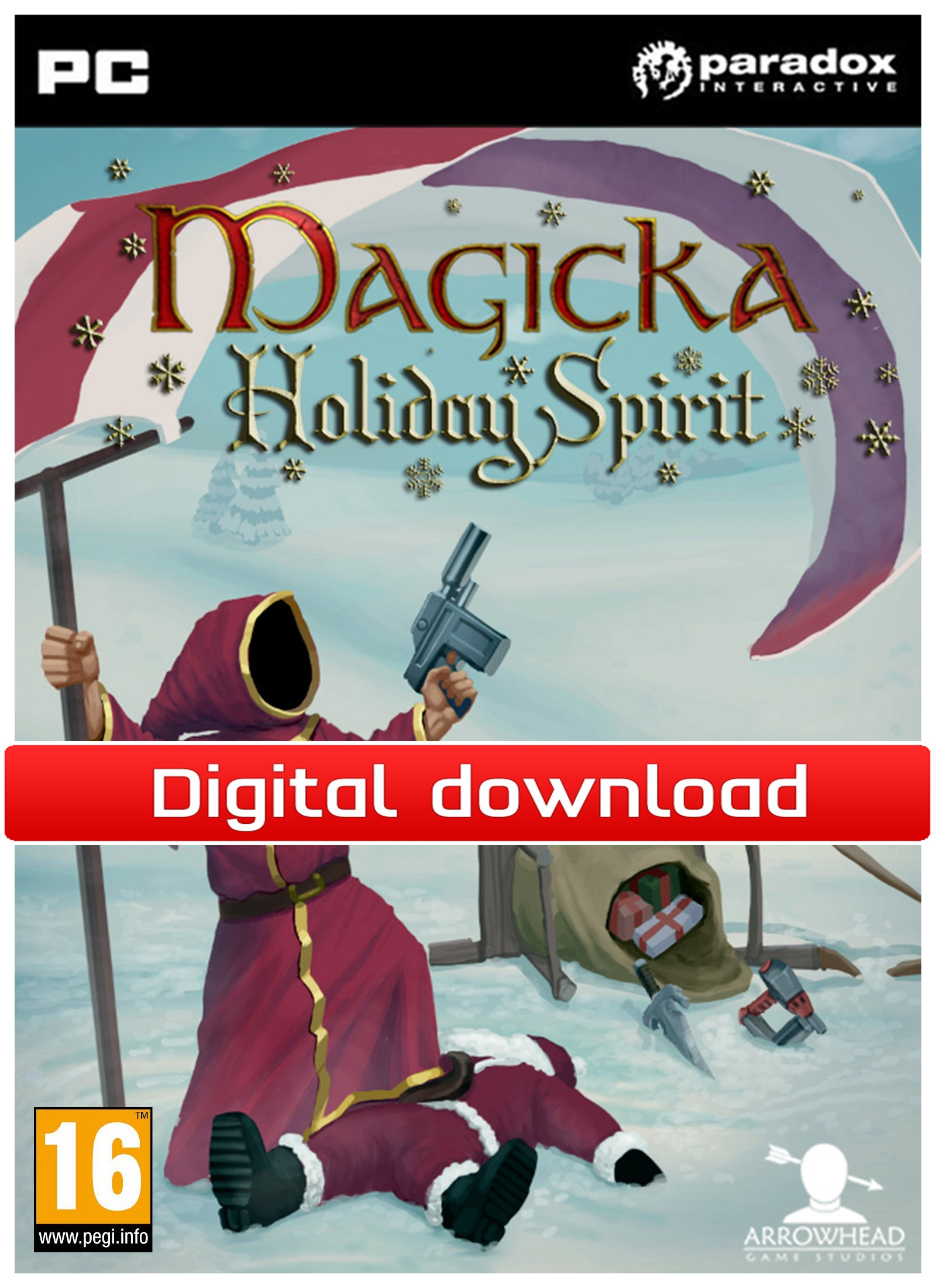 28172 : Magicka: DLC Holiday Spirit (PC nedlastning)
