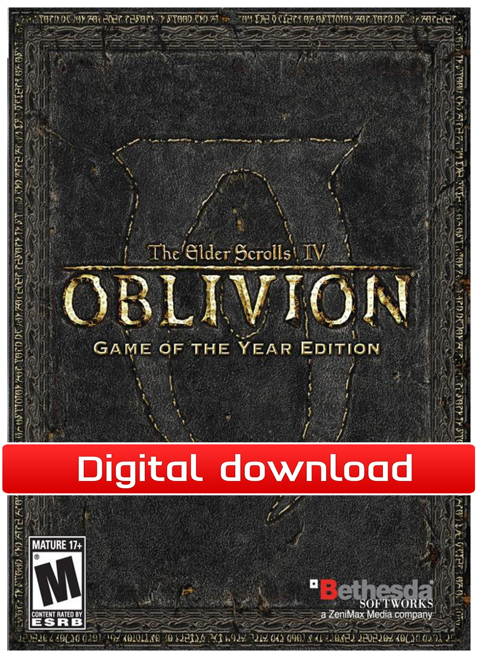 28182 : The Elder Scrolls 4: Oblivion Game of the Year (PC ned)