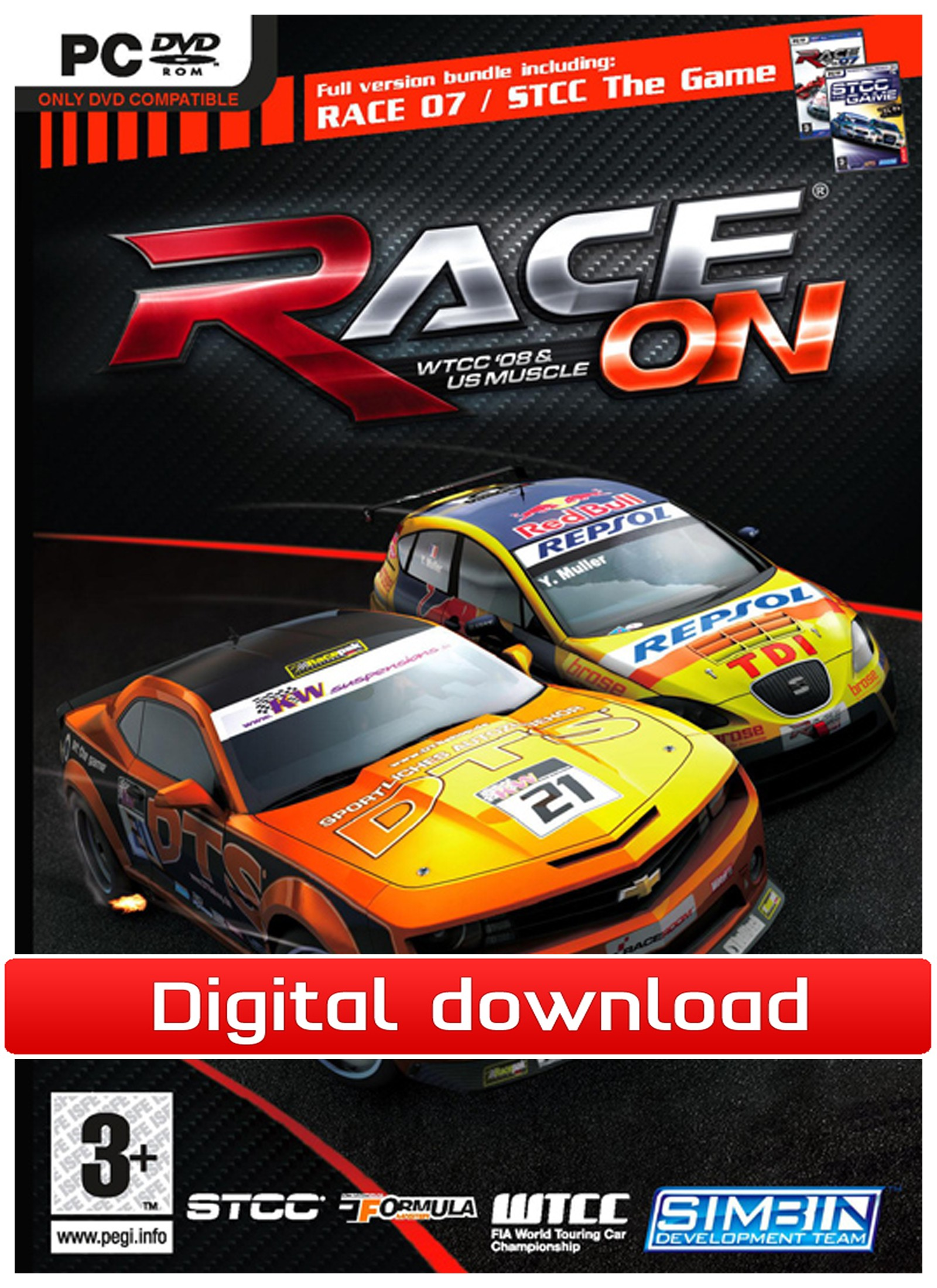 RACE On (PC nedlastning) PCDD28529
