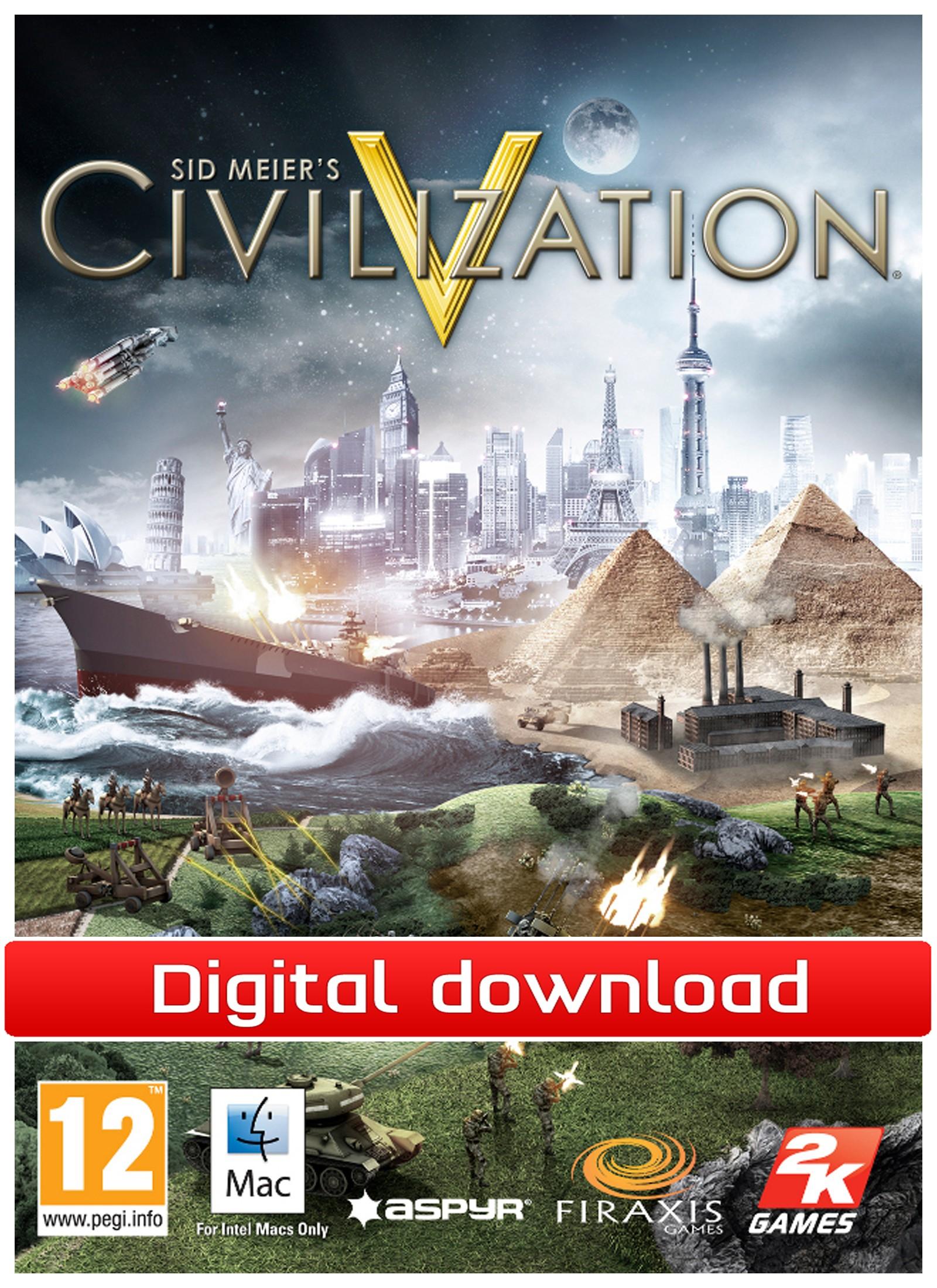 28705 : Sid Meier's Civilization 5 (Mac nedlastning)