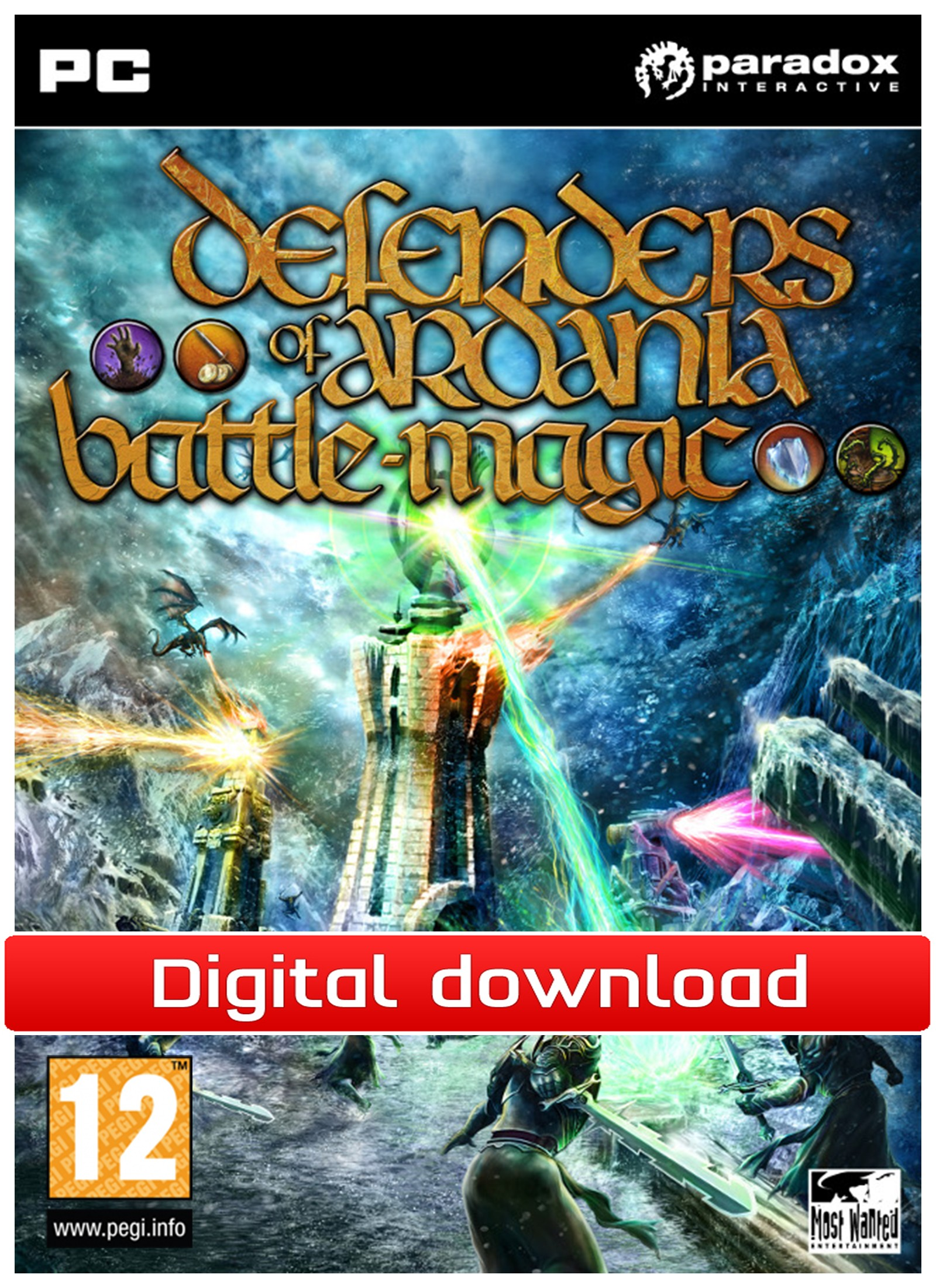 29500 : Defenders of Ardania: Battlemagic DLC (PC nedlastning)
