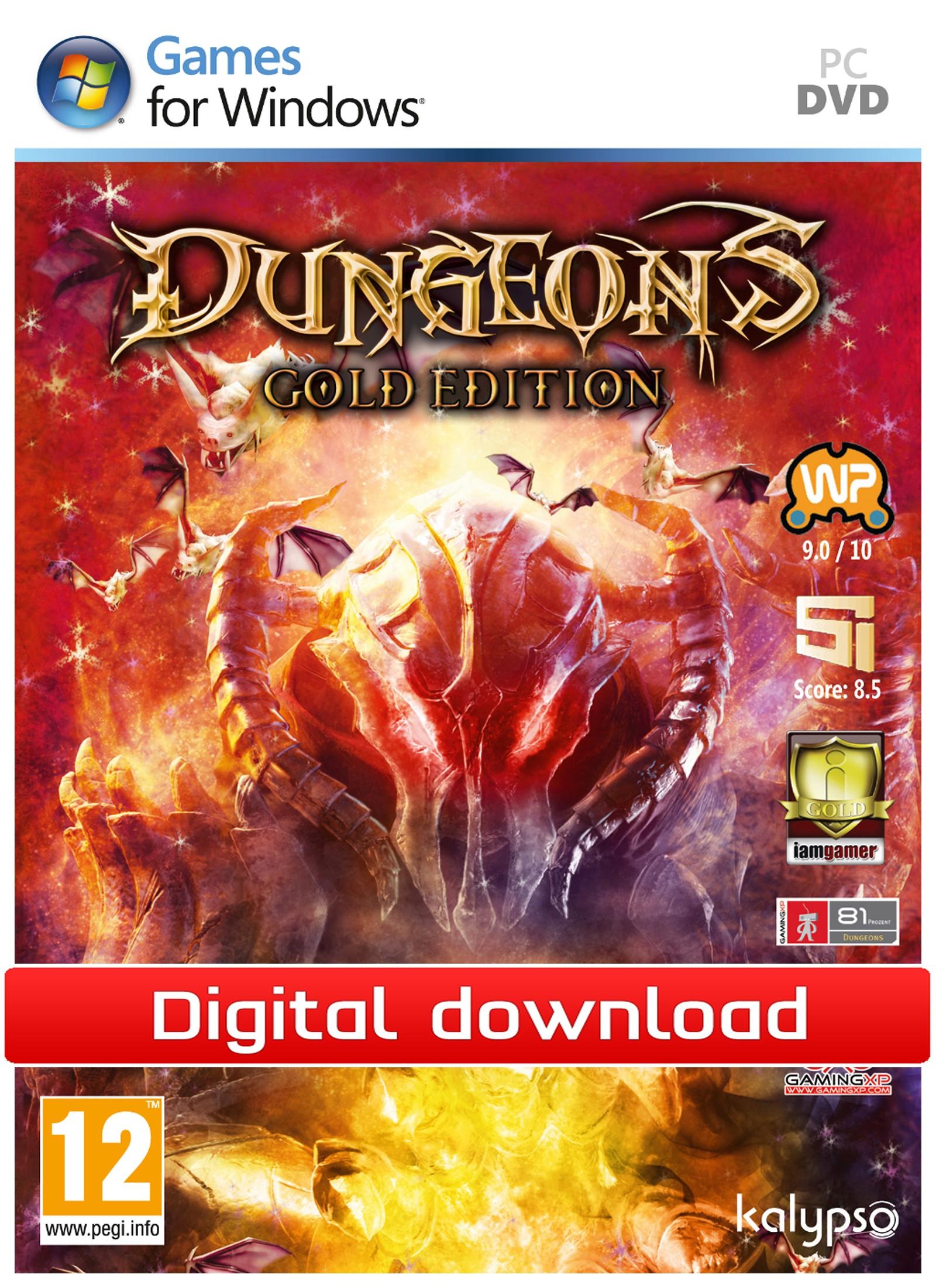 Dungeons: Gold Edition (PC nedlastning) PCDD29769