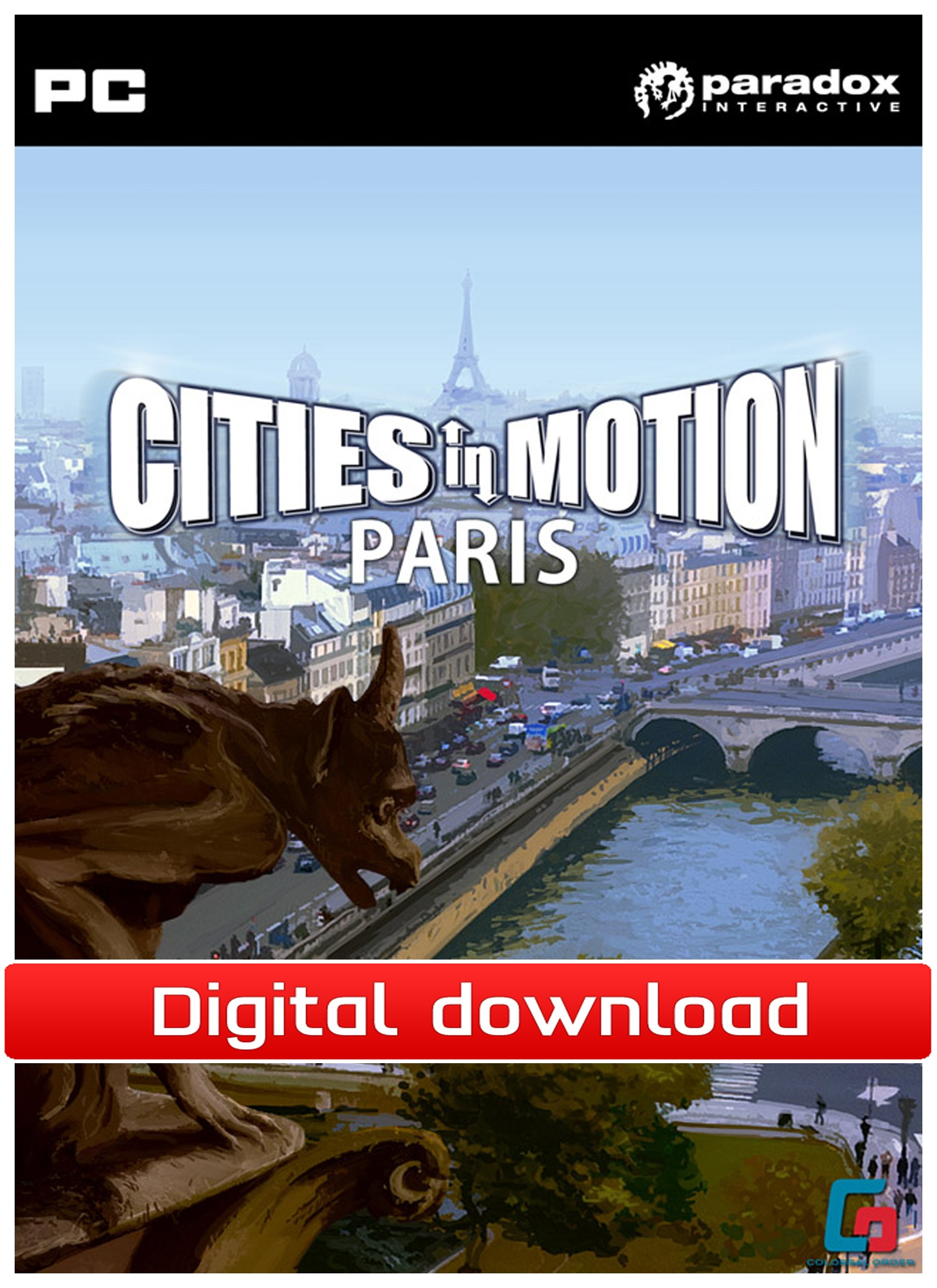Cities in Motion: DLC Paris (PC nedlastning) PCDD29805