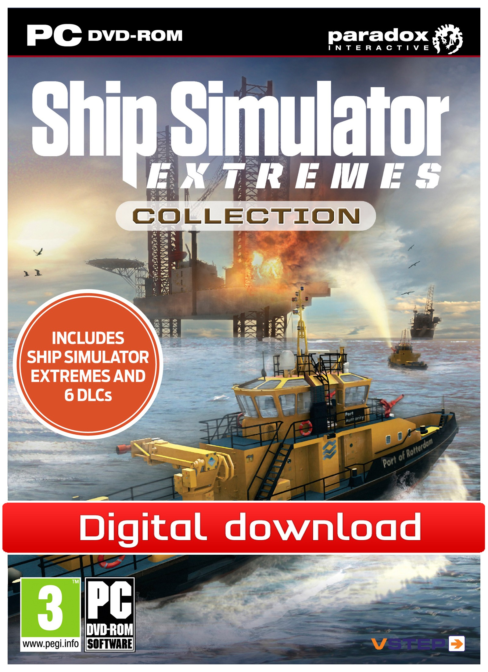 38671 : Ship Simulator Extremes Collection (PC nedlastning)