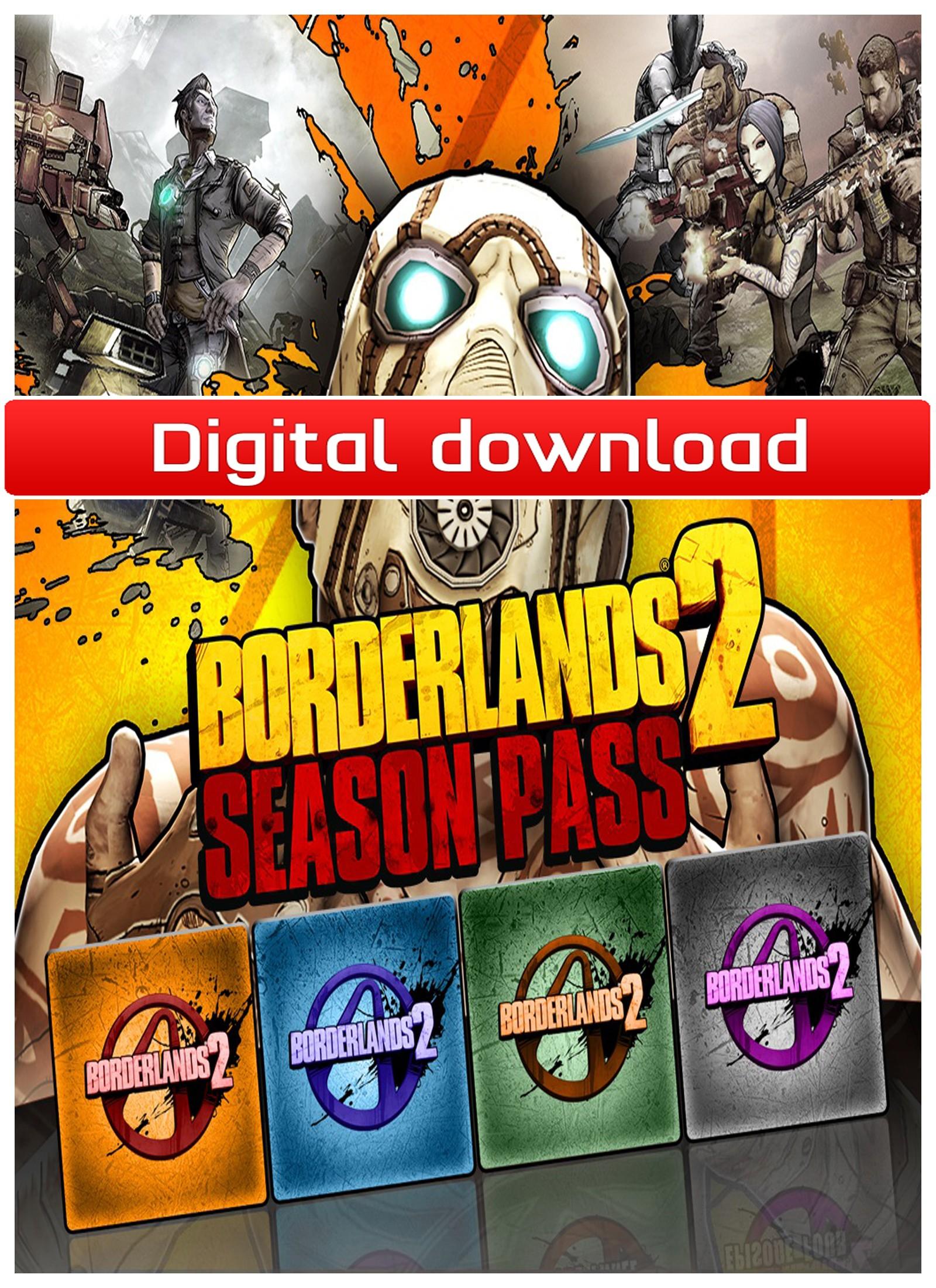Borderlands 2 Season Pass (PC nedlastning) PCDD30604
