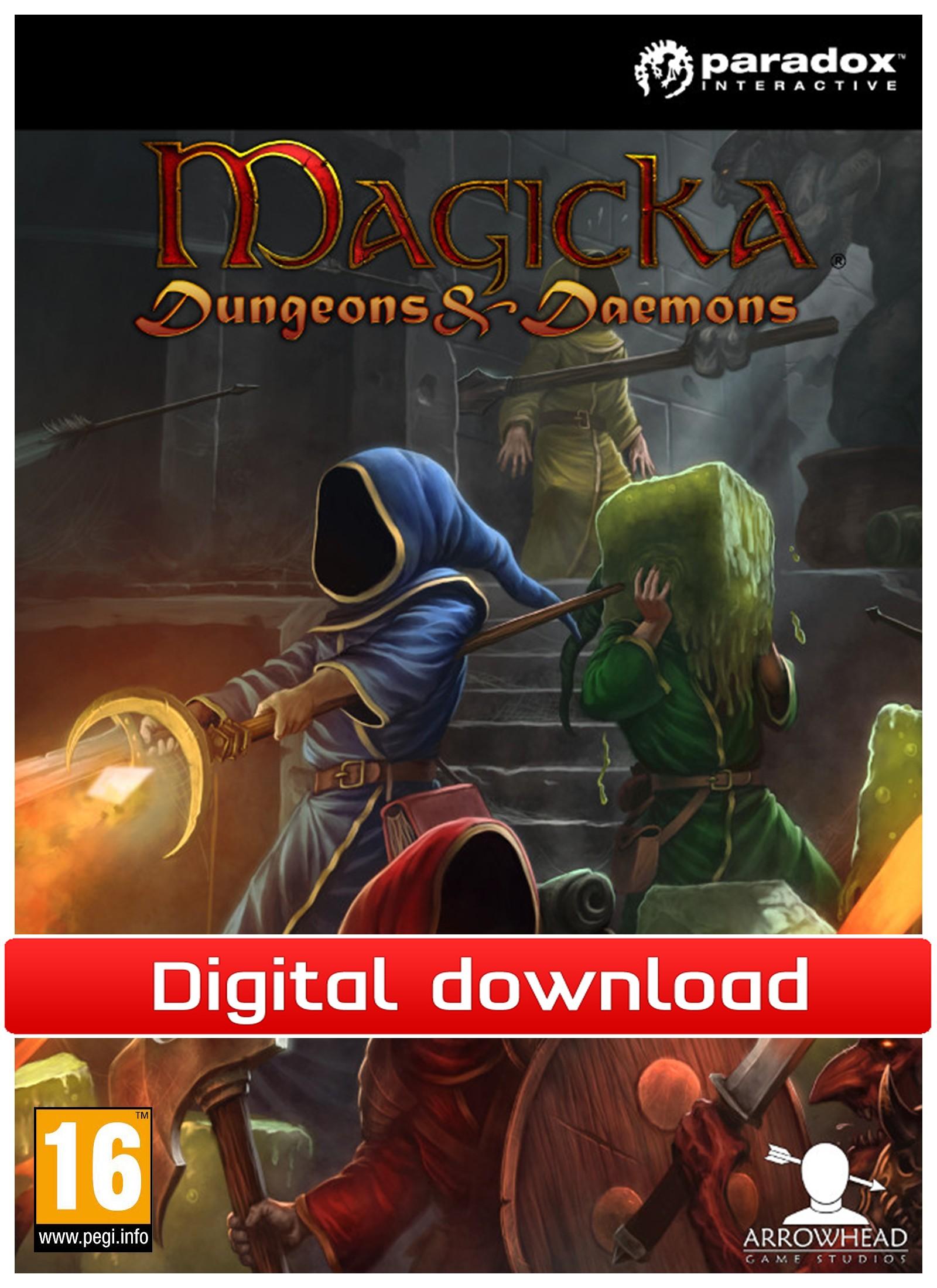 30731 : Magicka: Dungeons & Daemons DLC (PC nedlastning)