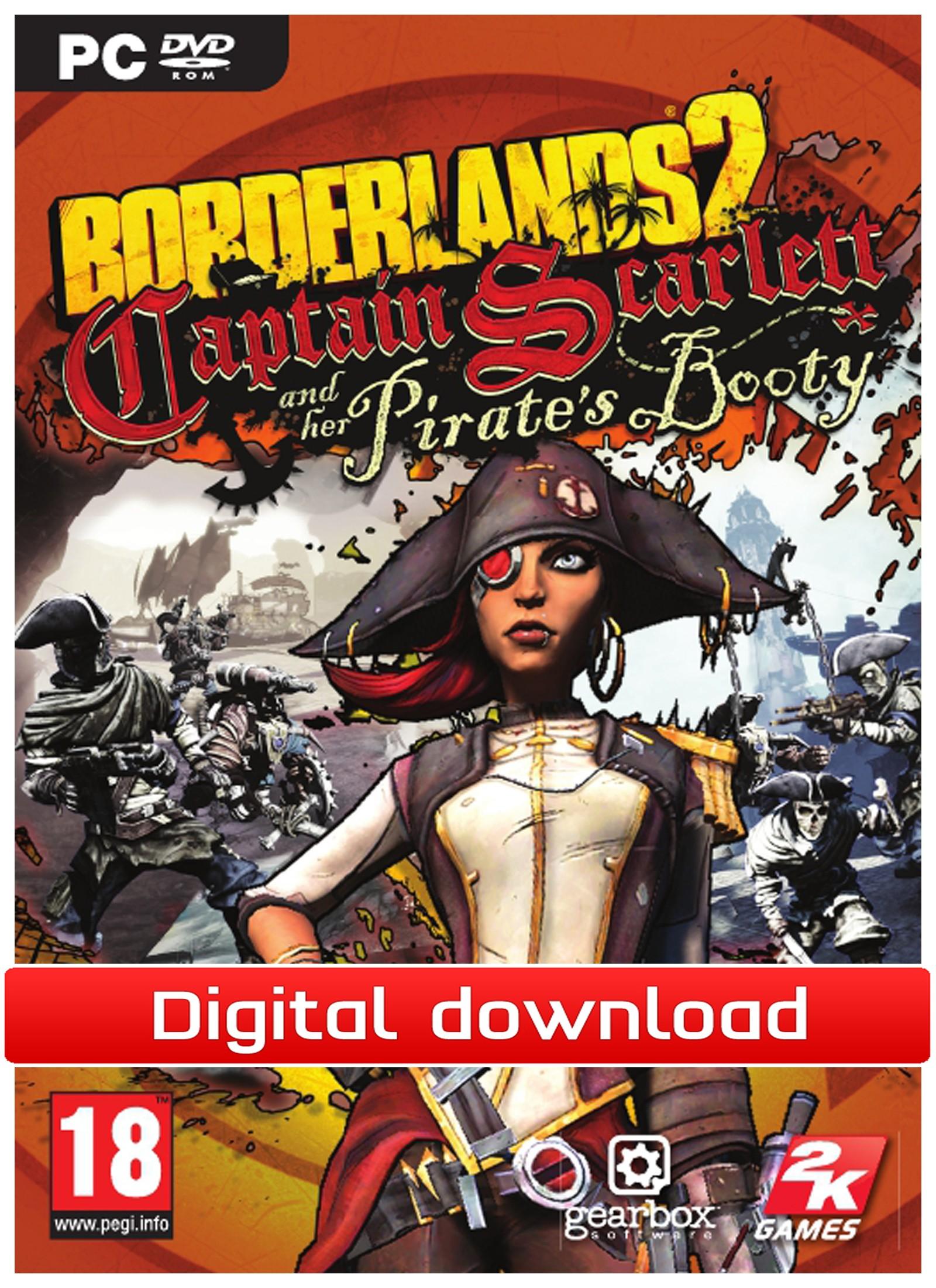 Borderlands 2: Captain Scarlett (PC nedlastning) PCDD30812