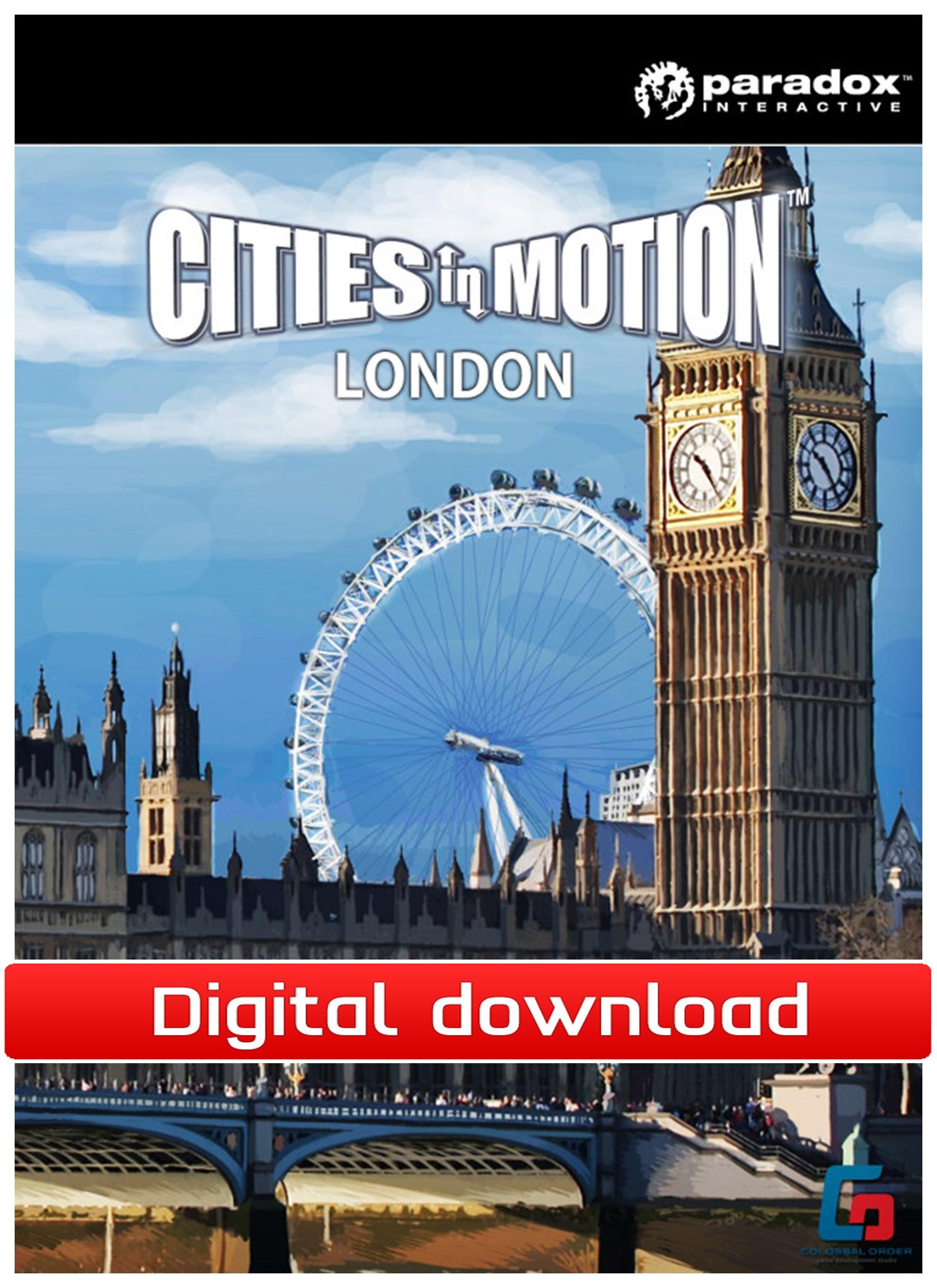 38656 : Cities in Motion: London DLC (PC nedlastning)
