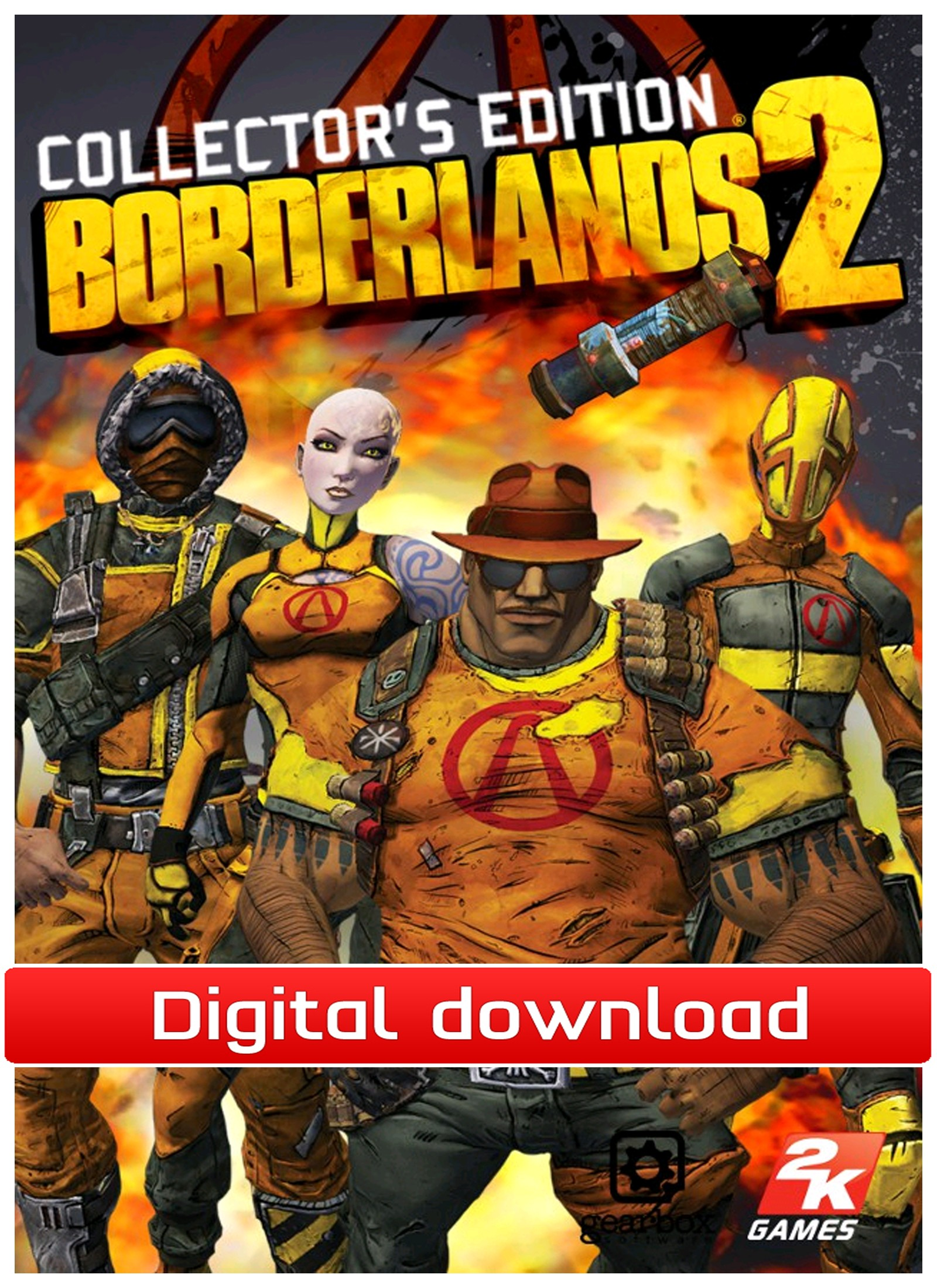 31333 : Borderlands 2: Collector's EdtContent (PC nedlastning)