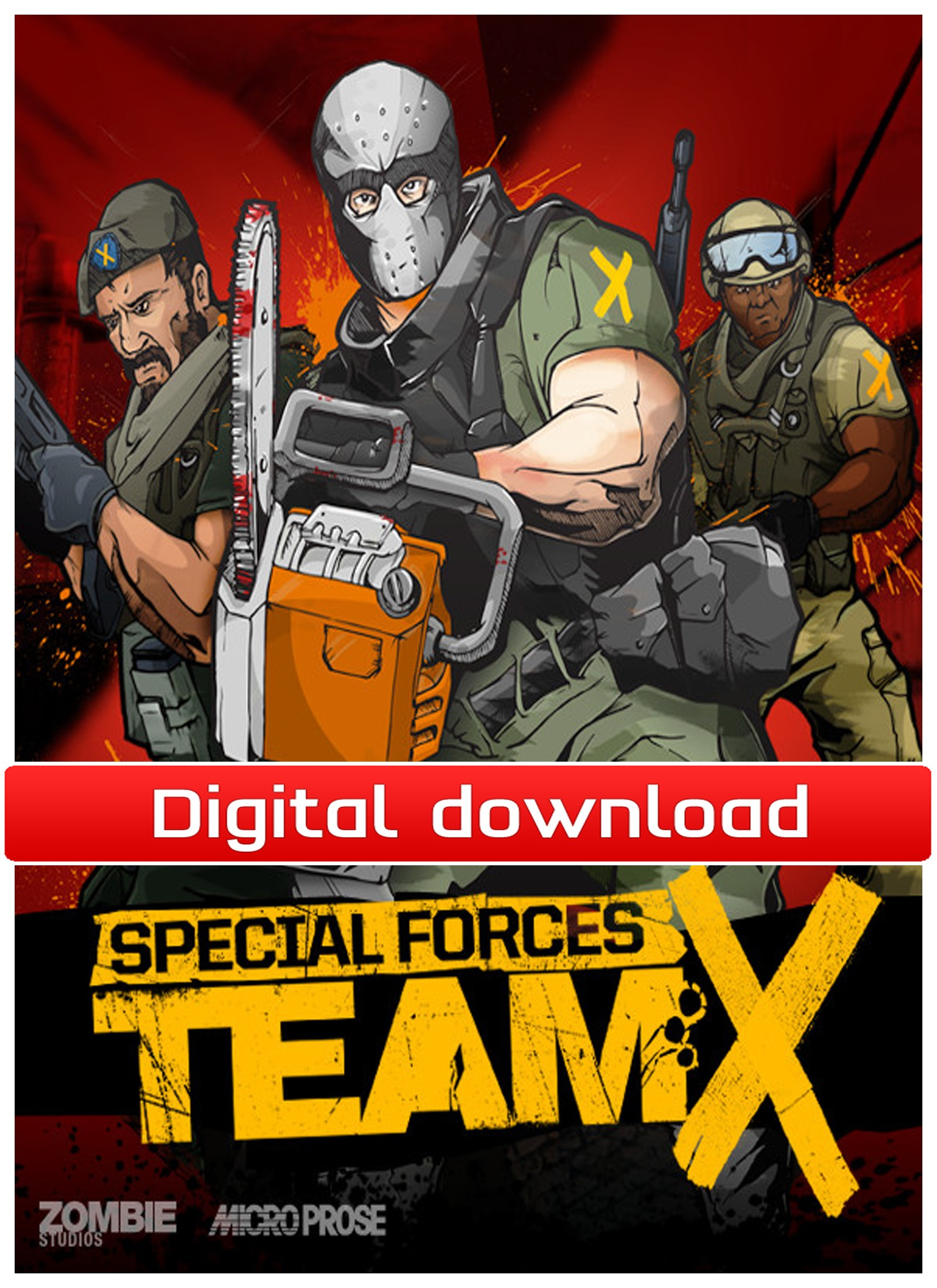 31798 : Special Forces: Team X (PC nedlastning)