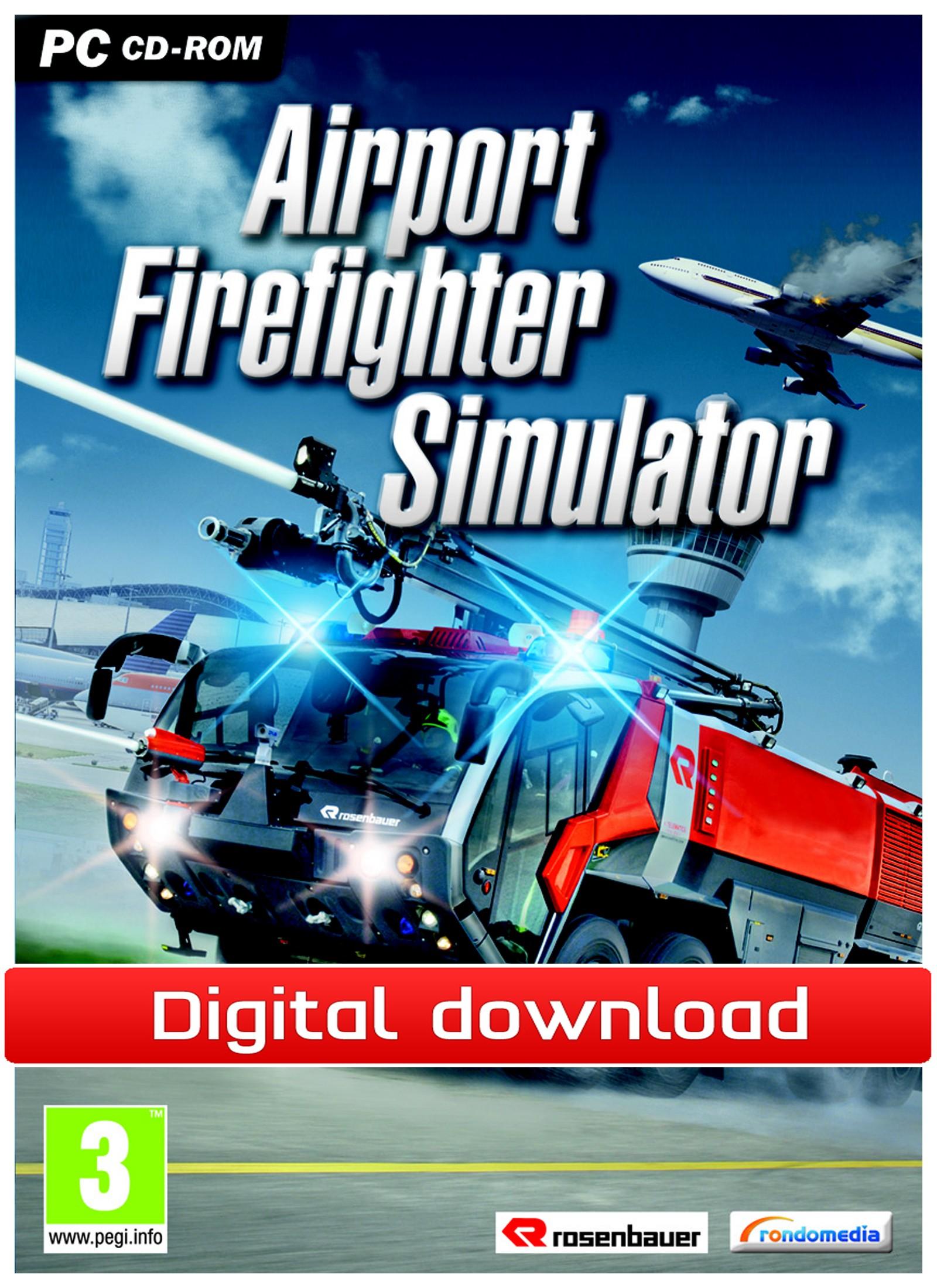 Airport Firefighter Simulator (PC nedlastning) PCDD32177