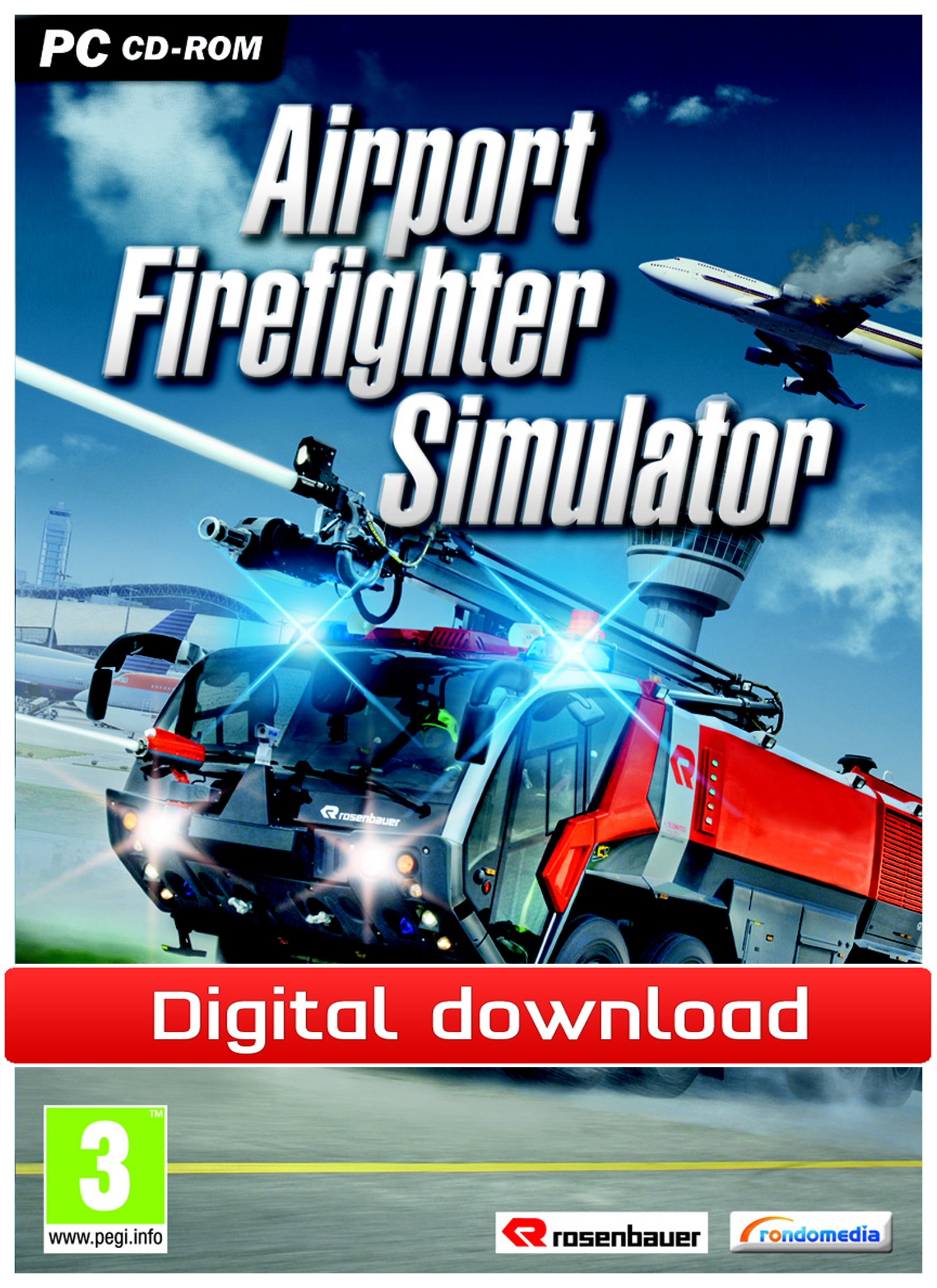 32177 : Airport Firefighter Simulator (PC nedlastning)