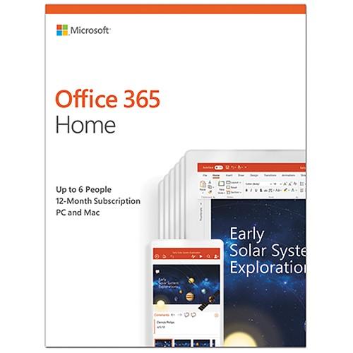 6GQ-00092 : Office 365 Home (Nedlastning)