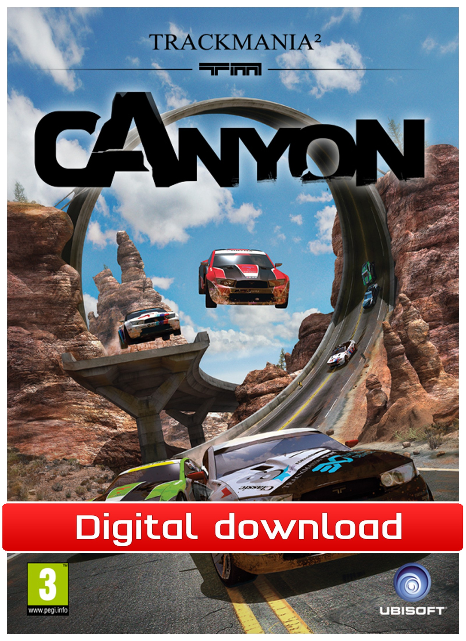 32769 : TrackMania² Canyon (PC nedlastning)