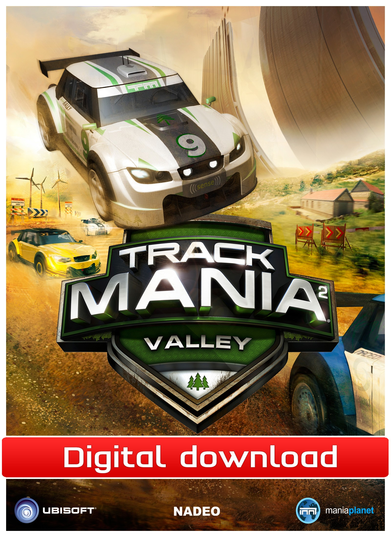 32770 : TrackMania² Valley (PC nedlastning)