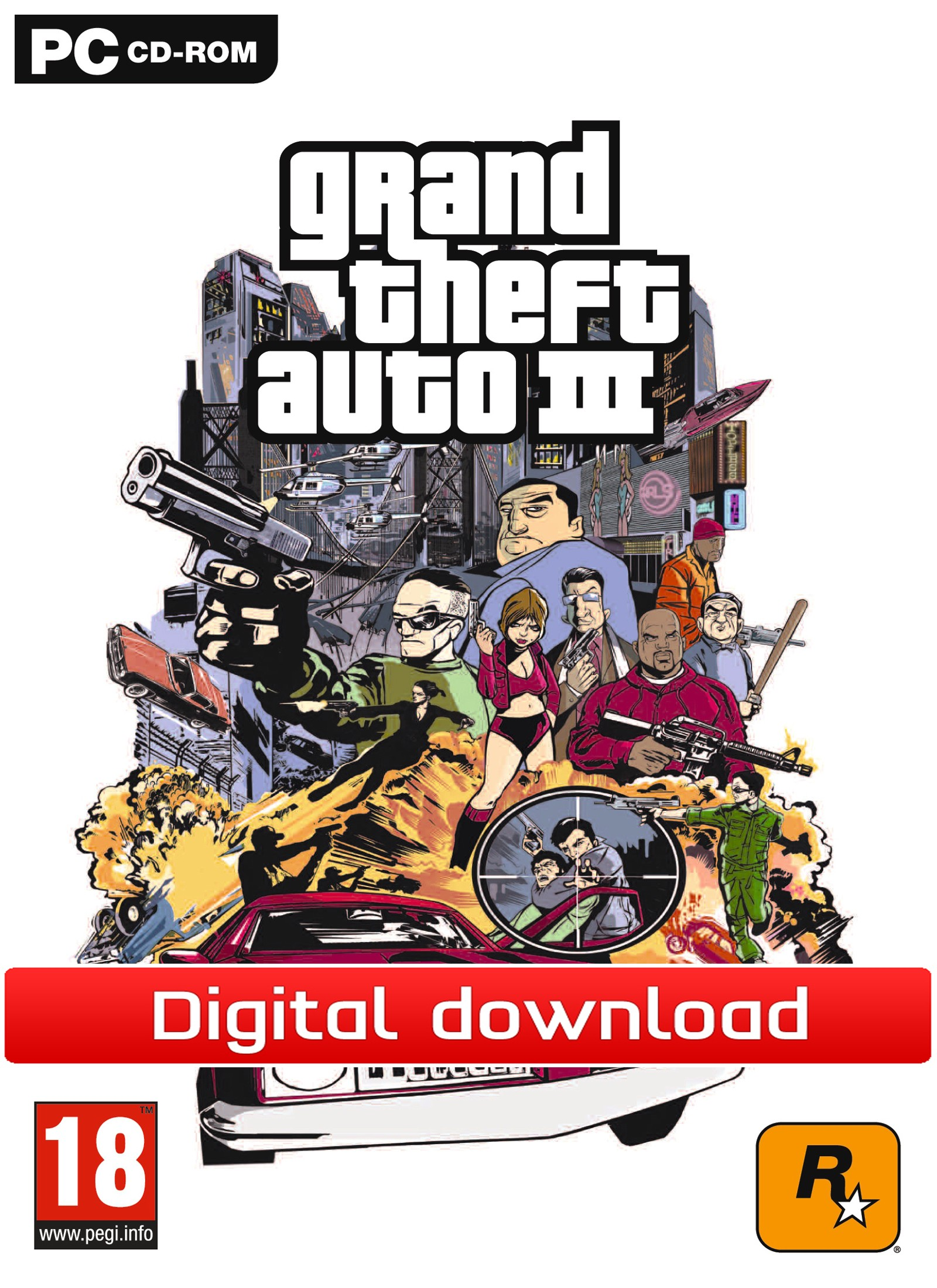 GTA 3 (PC nedlastning) PCDD33062