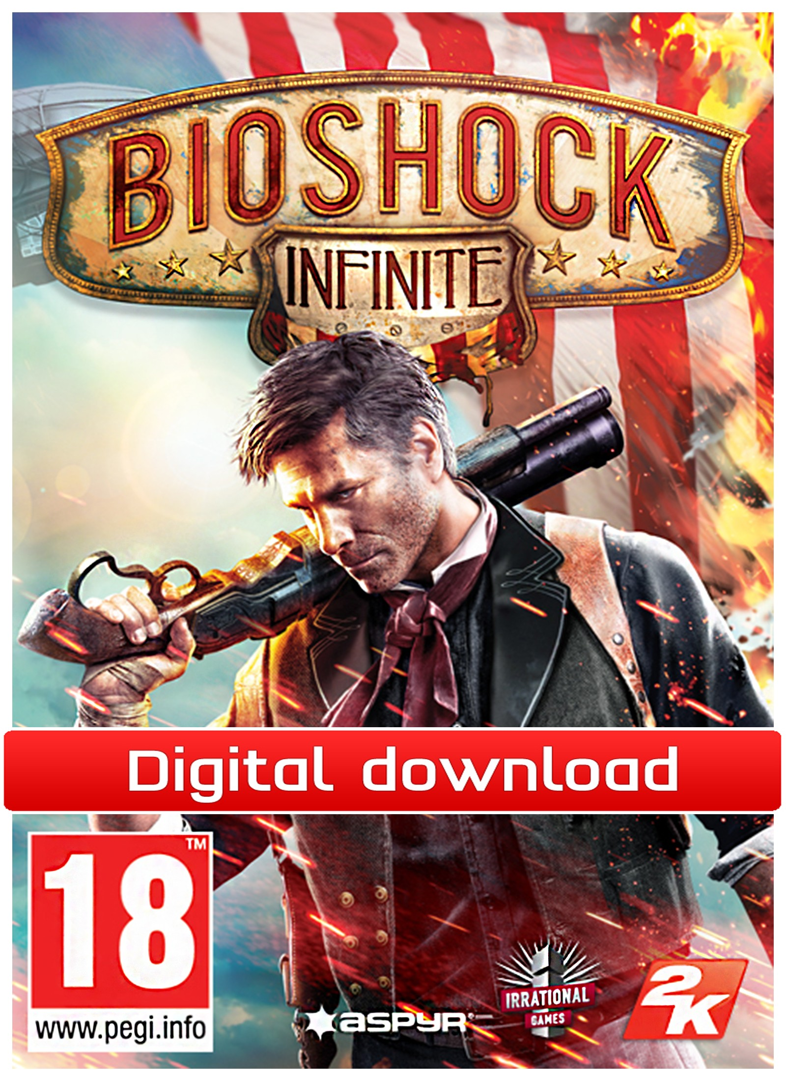 BioShock Infinite (MAC nedlastning) PCDD33072