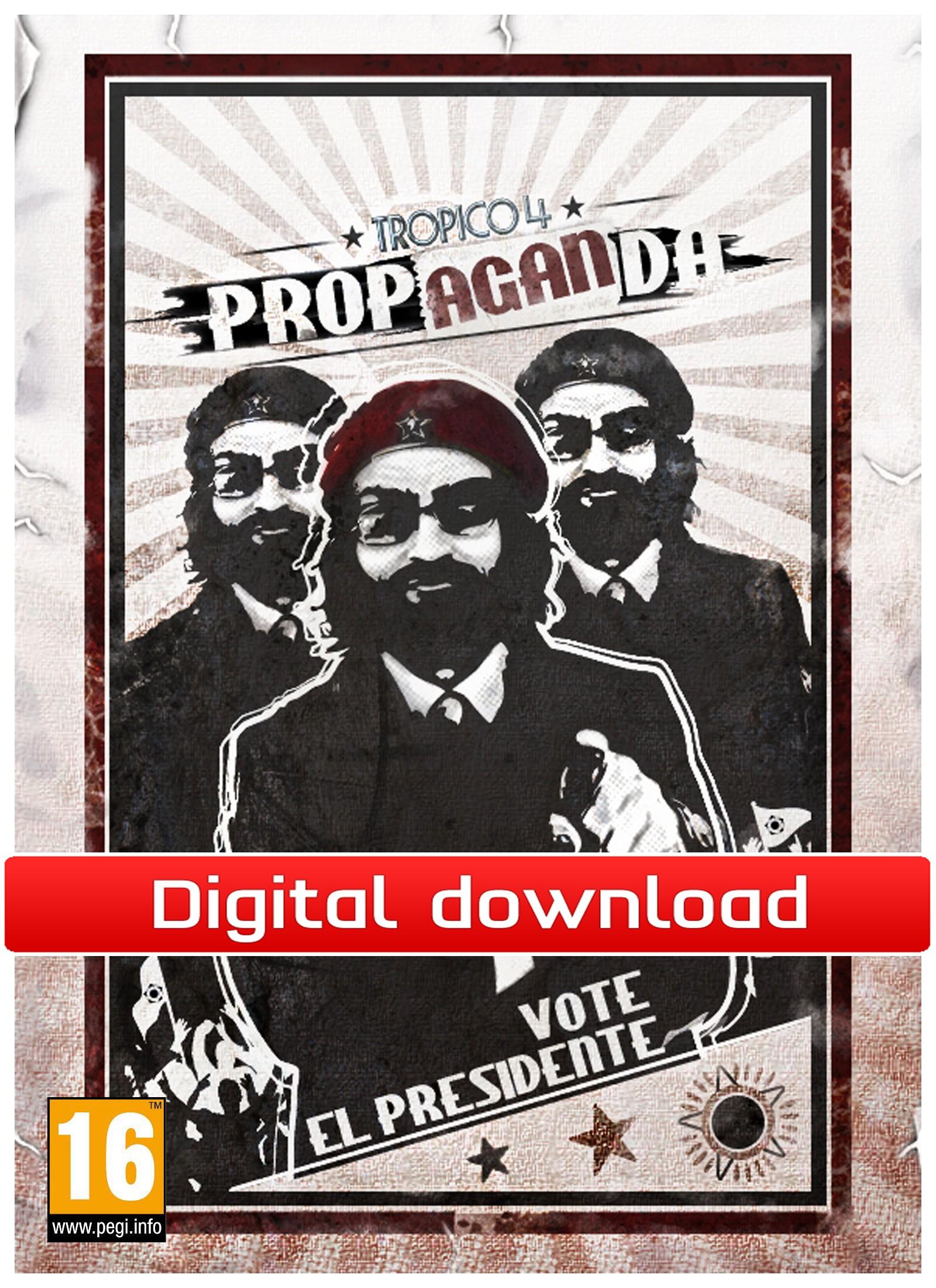 Tropico 4: DLC Propaganda (PC nedlastning) PCDD33079