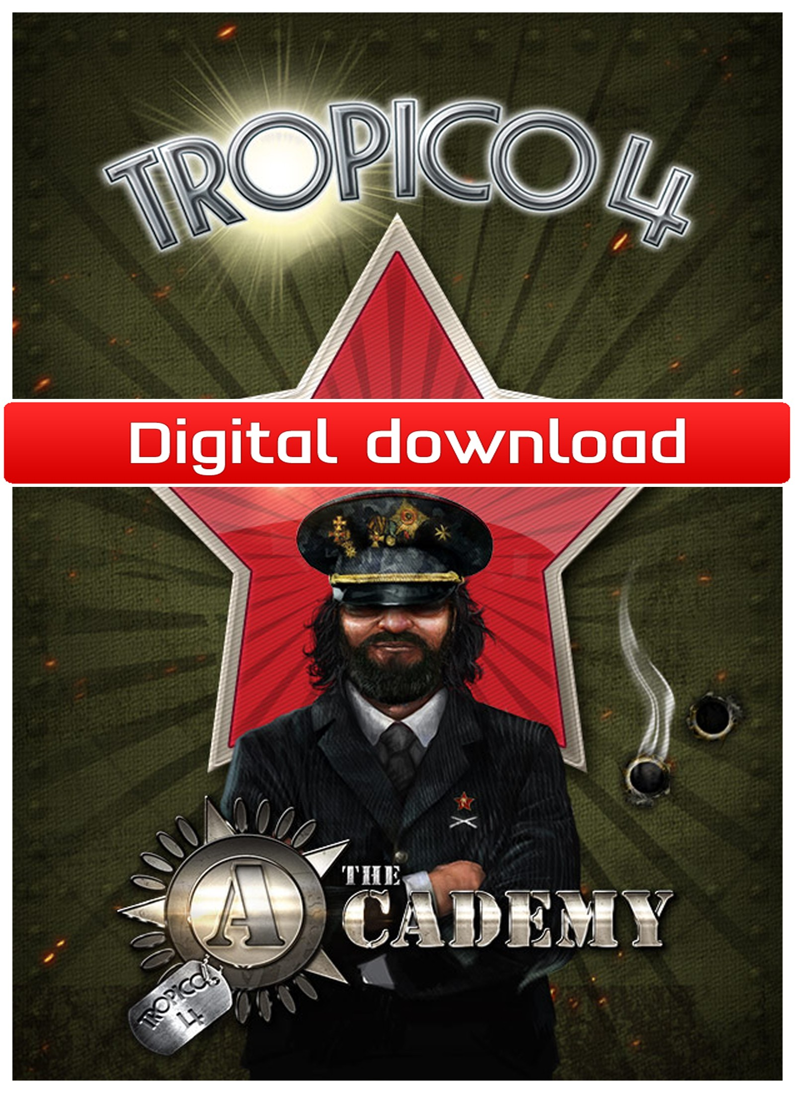 Tropico 4: The Academy DLC (PC nedlastning) PCDD33342