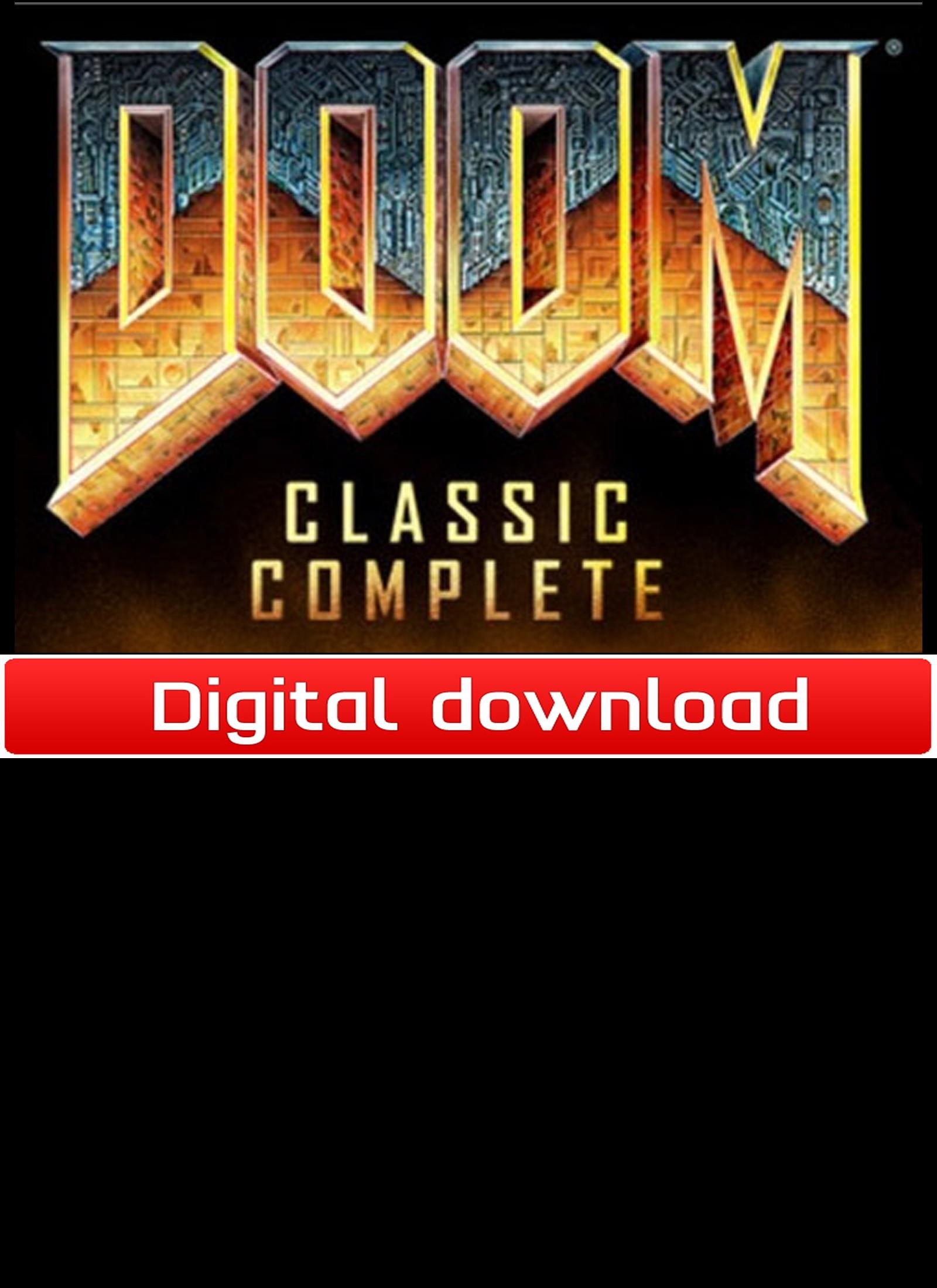 Doom Classic Complete (PC nedlastning) PCDD33362