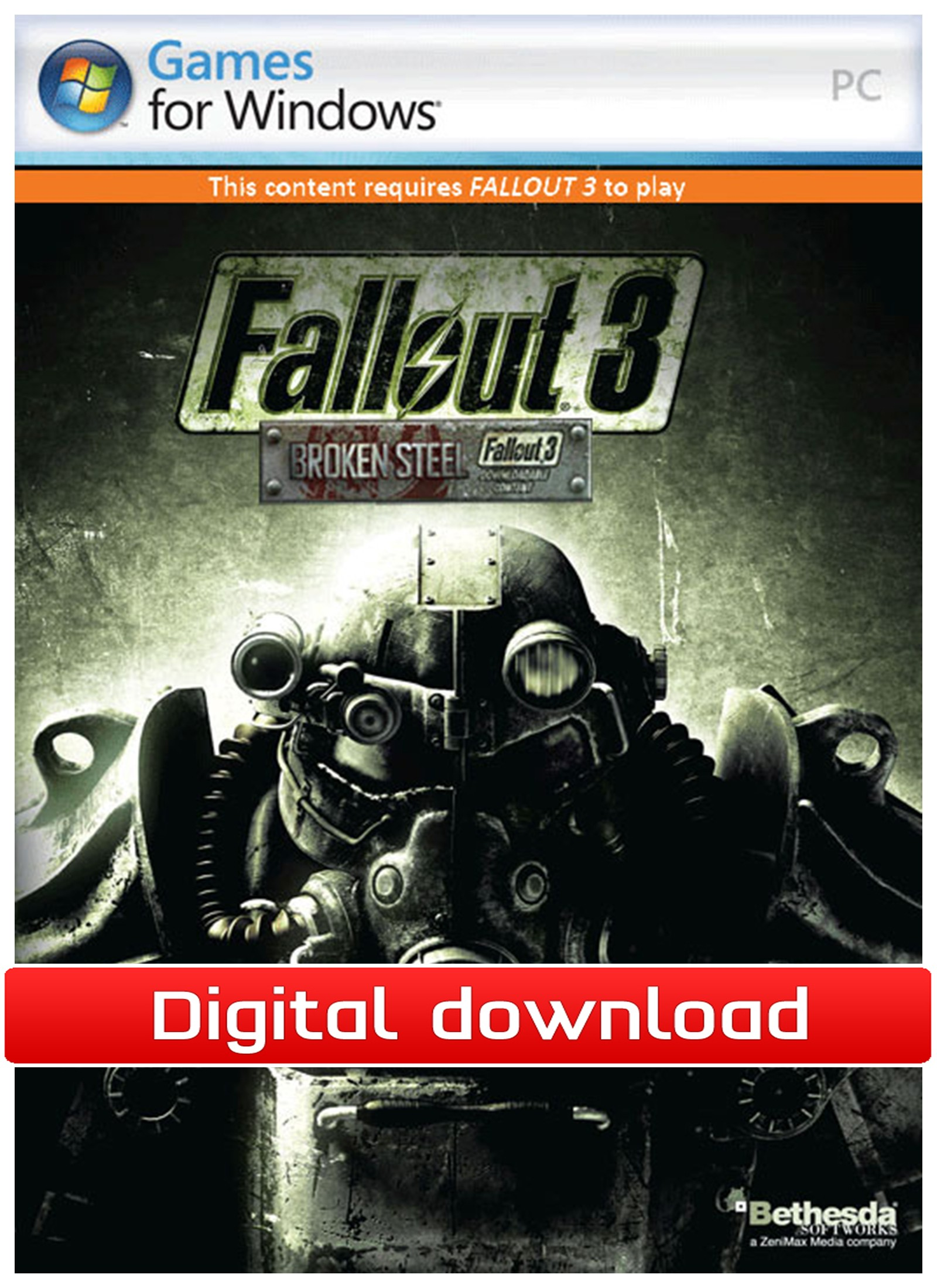 33366 : Fallout 3: Broken Steel (PC nedlastning)