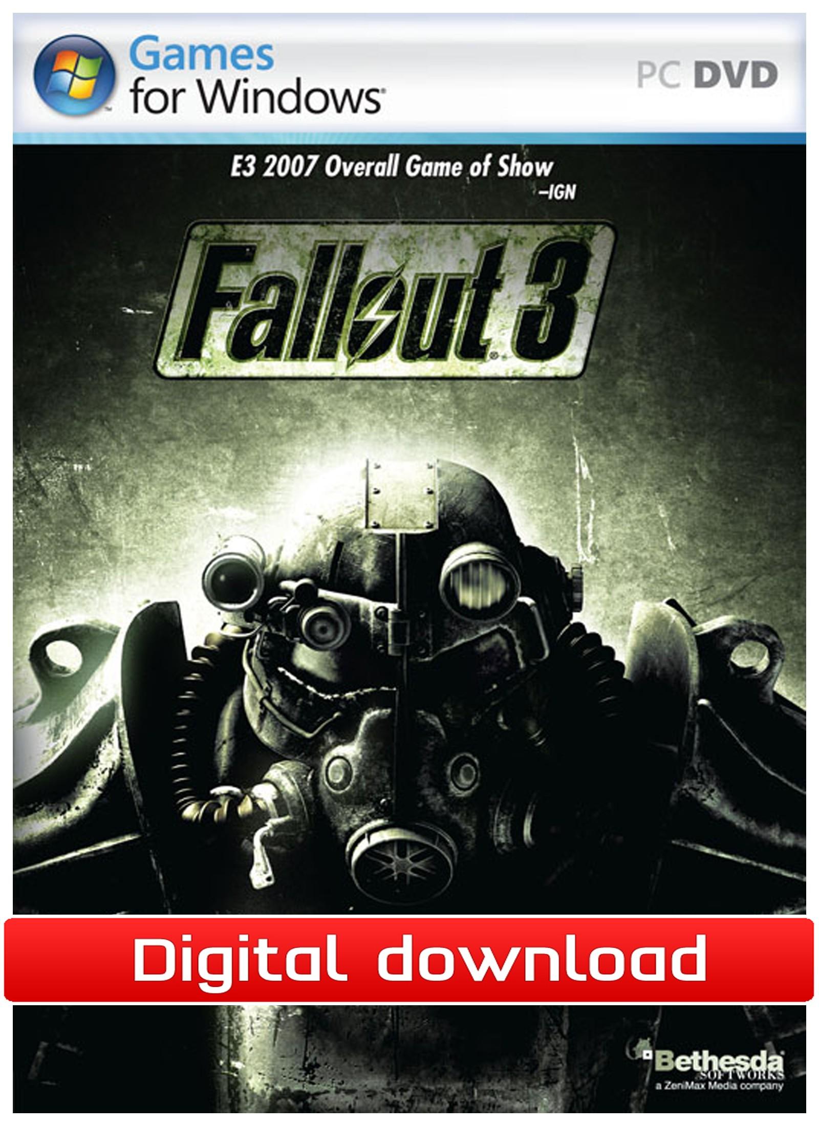 33369 : Fallout 3 (PC nedlastning)