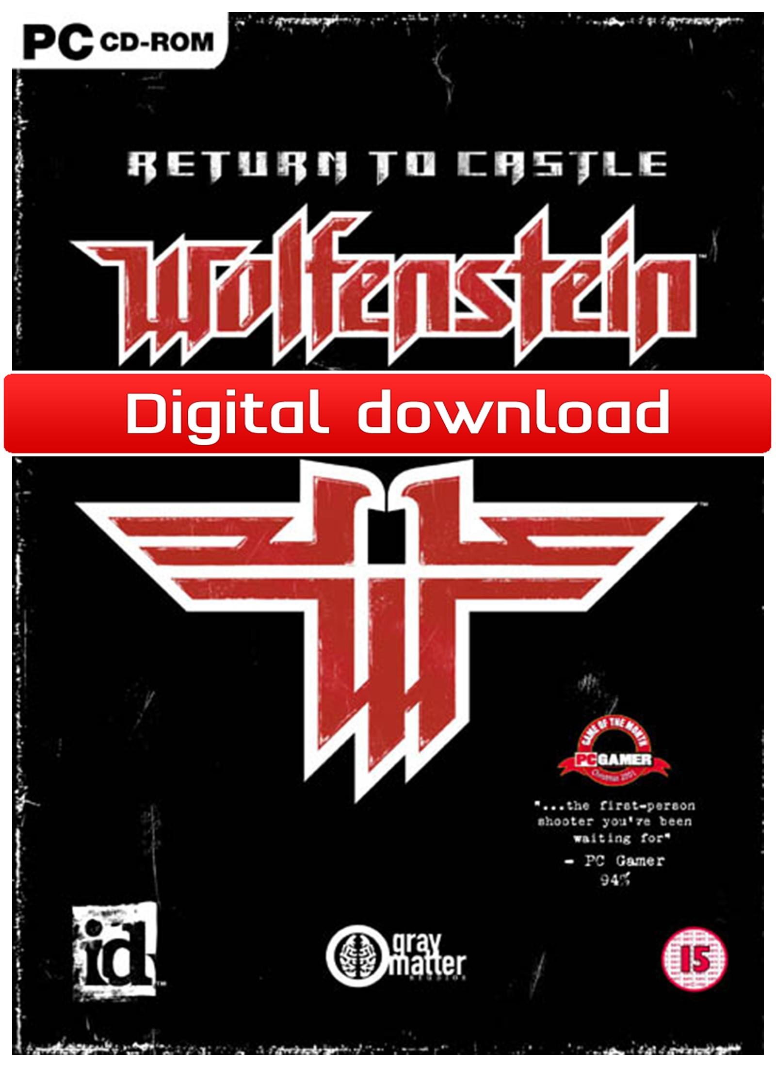Return to Castle Wolfenstein (PC nedlastning) PCDD33380