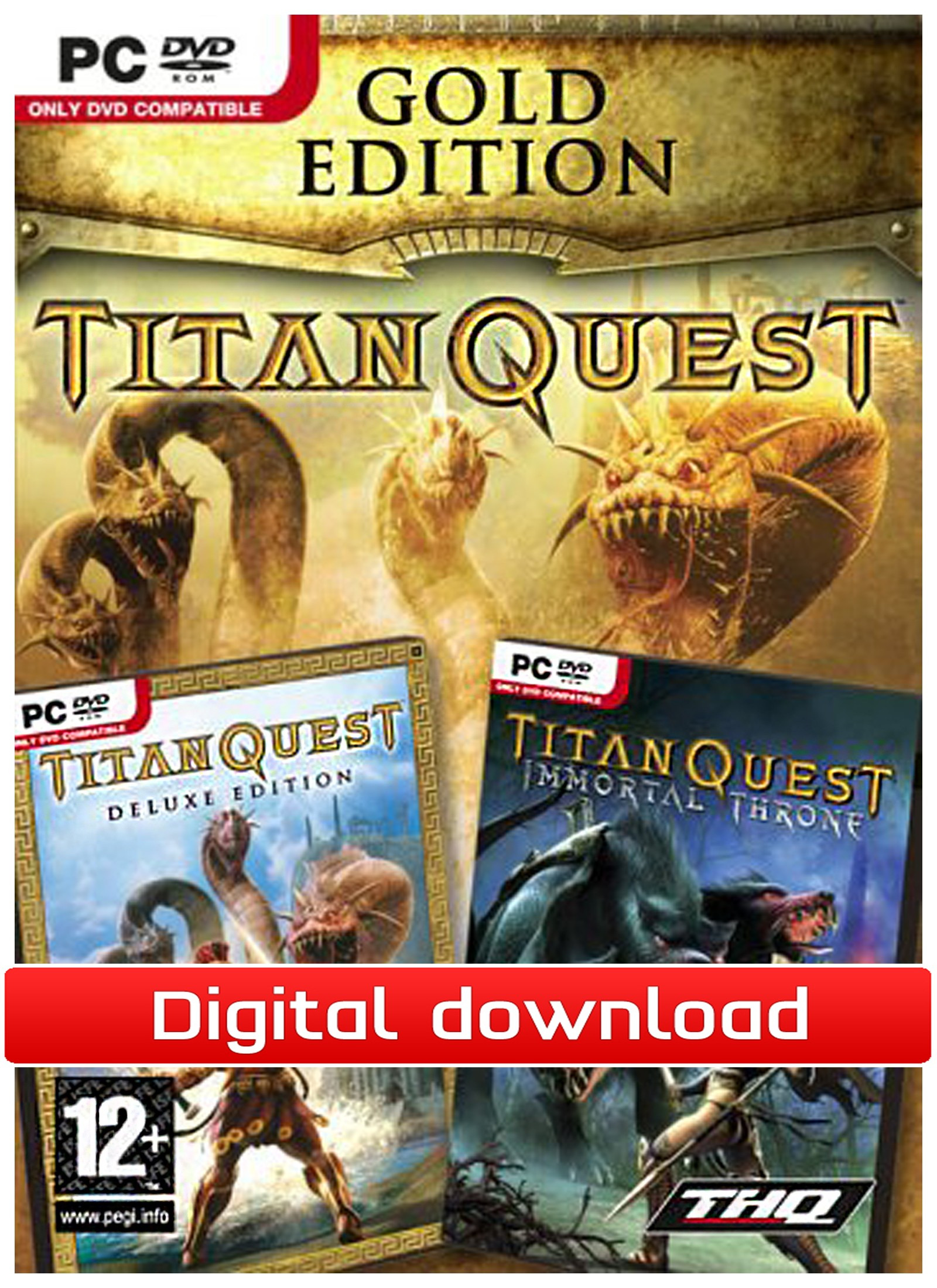 33870 : Titan Quest: Gold Edition (PC nedlastning)