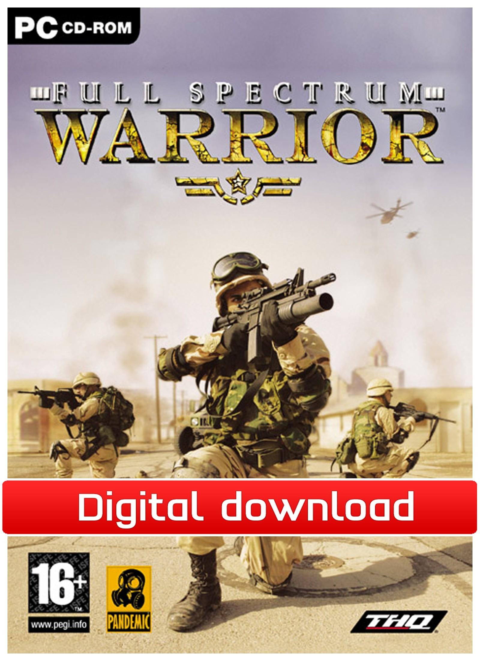 Full Spectrum Warrior (PC nedlastning) PCDD33873