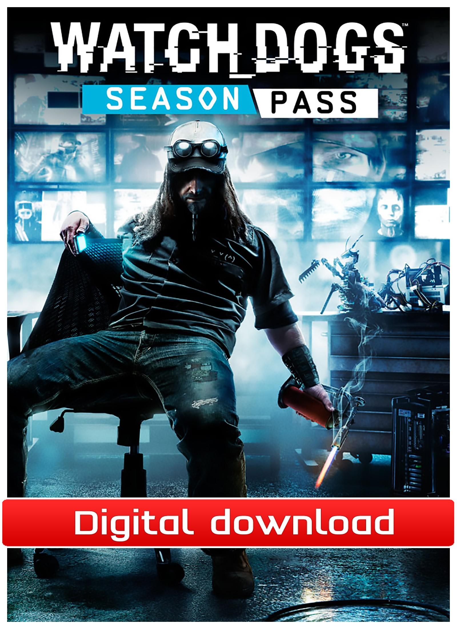 Watch Dogs: Season Pass (PC nedlastning) PCDD34039