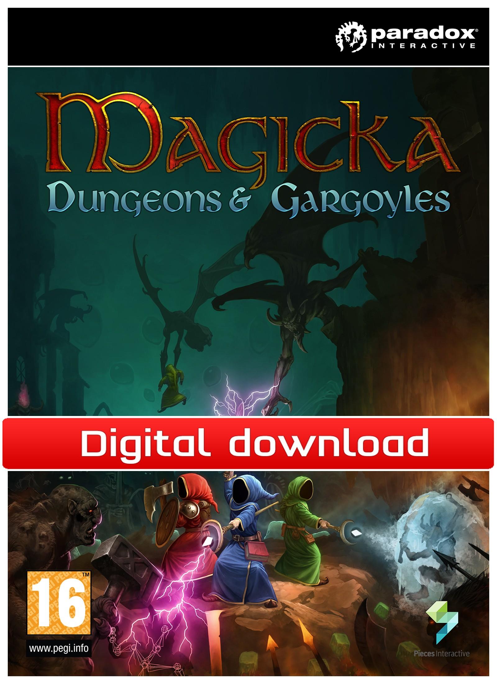 34077 : Magicka DLC: Dungeons & Gargoyles (PC nedlastning)
