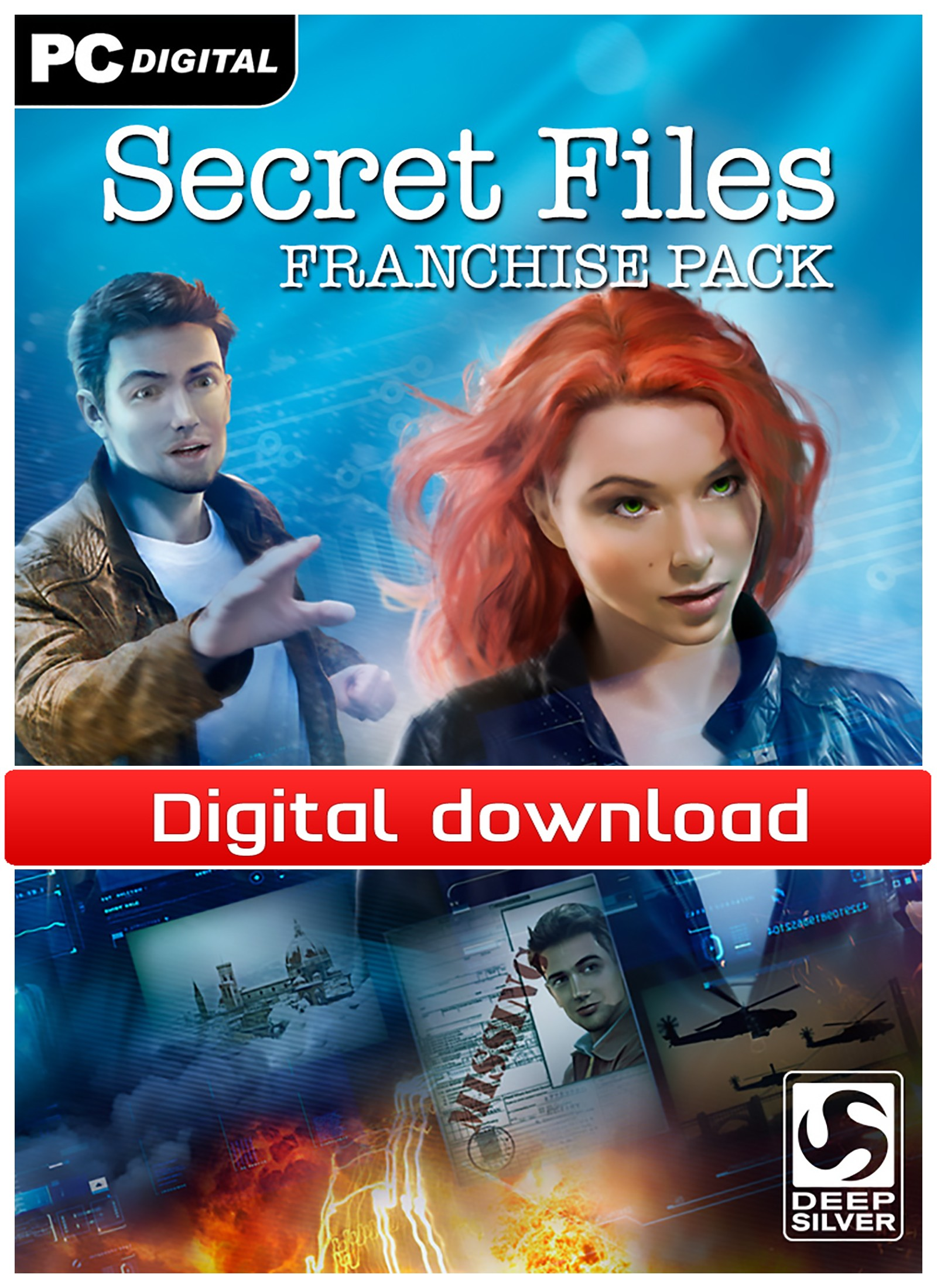 34261 : Secret Files Franchise Pack (PC nedlastning)