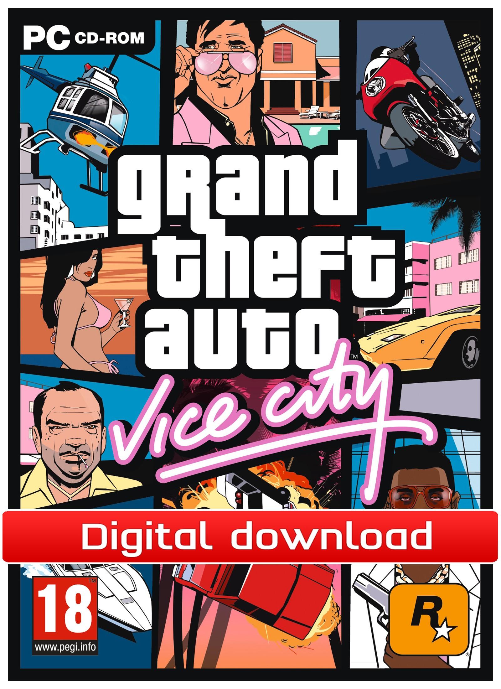 34284 : GTA: Vice City (PC nedlastning)