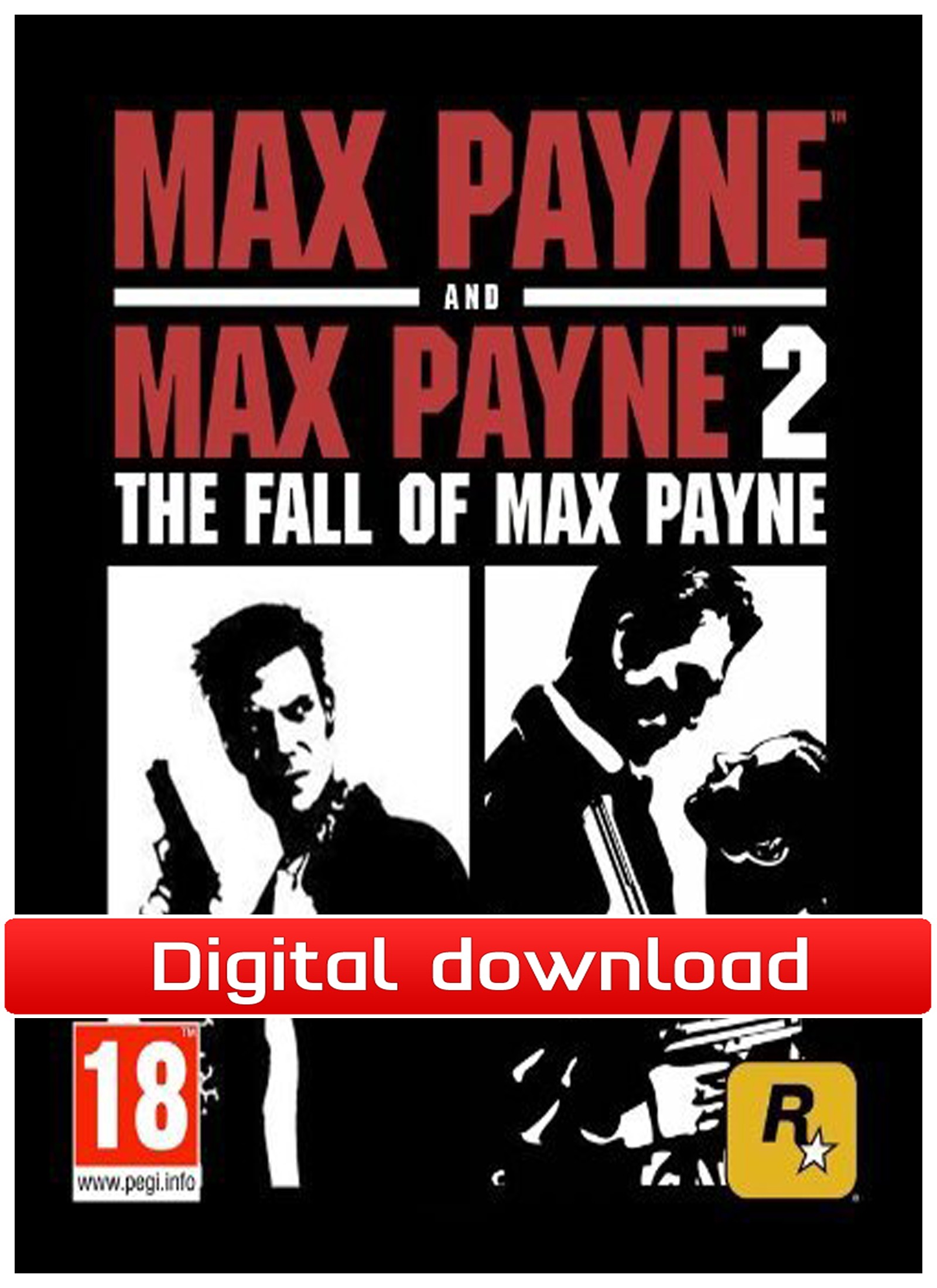 34571 : Max Payne Double Pack (PC nedlastning)