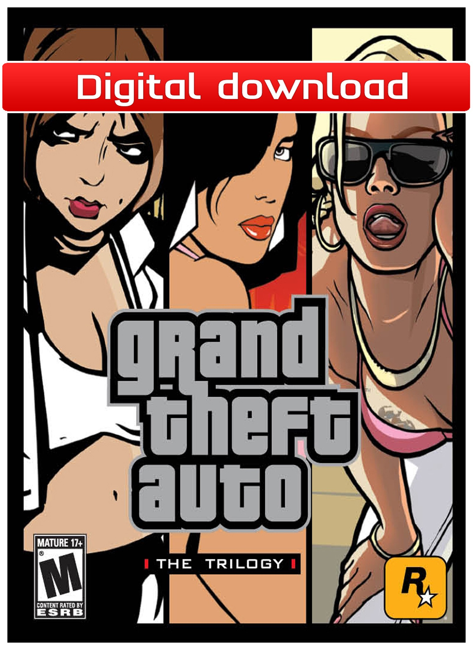 34638 : Grand Theft Auto: The Trilogy (PC nedlastning)