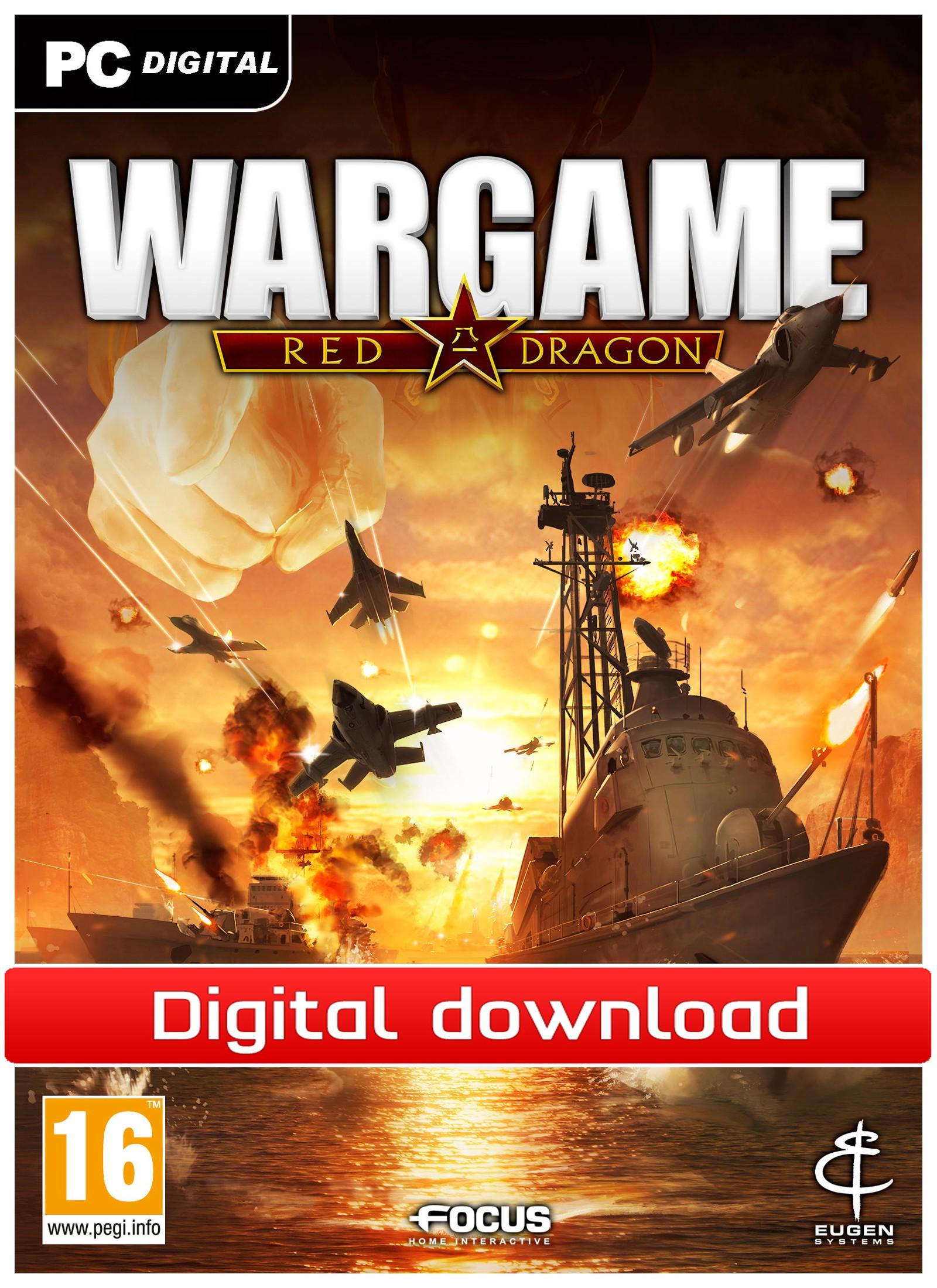 Wargame: Red Dragon (PC nedlastning) PCDD34793