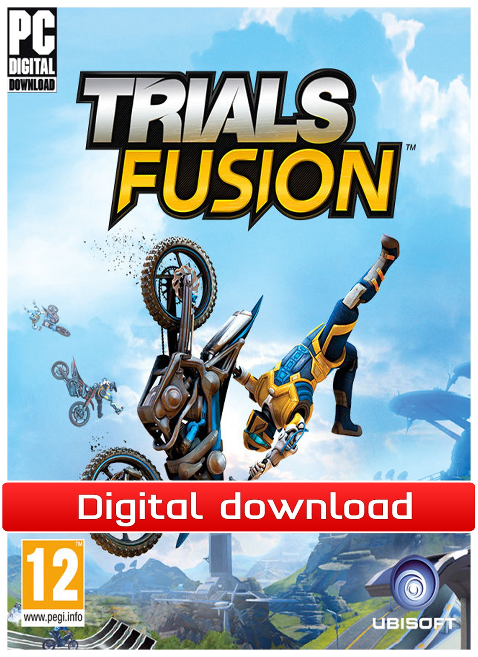 34804 : Trials Fusion (PC nedlastning)